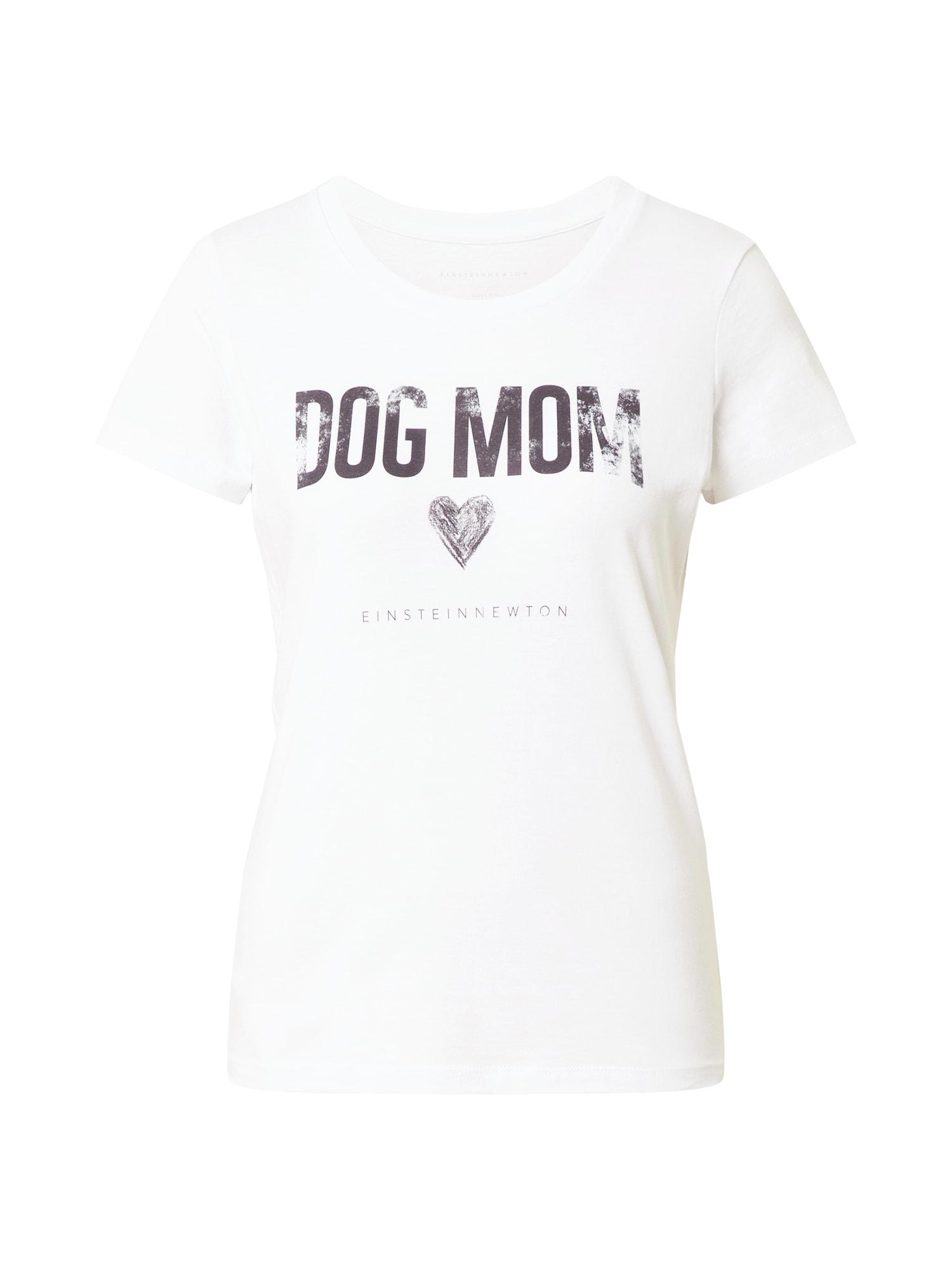 EINSTEIN & NEWTON Marškinėliai balta / purvo spalva
