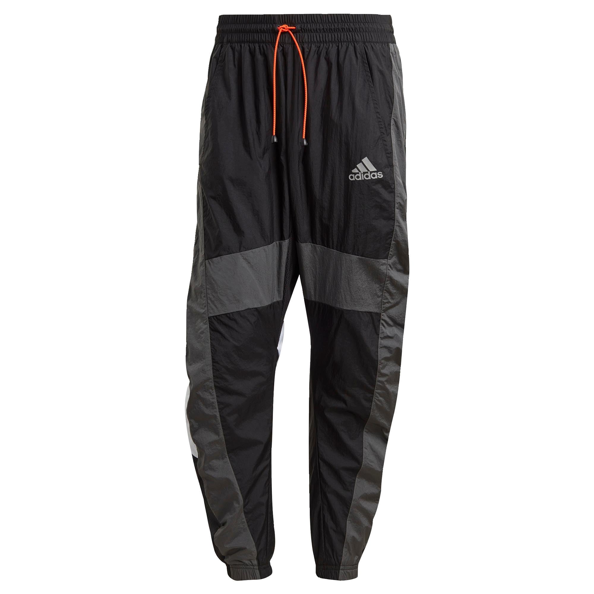 ADIDAS PERFORMANCE Sportinės kelnės juoda / tamsiai pilka / balta