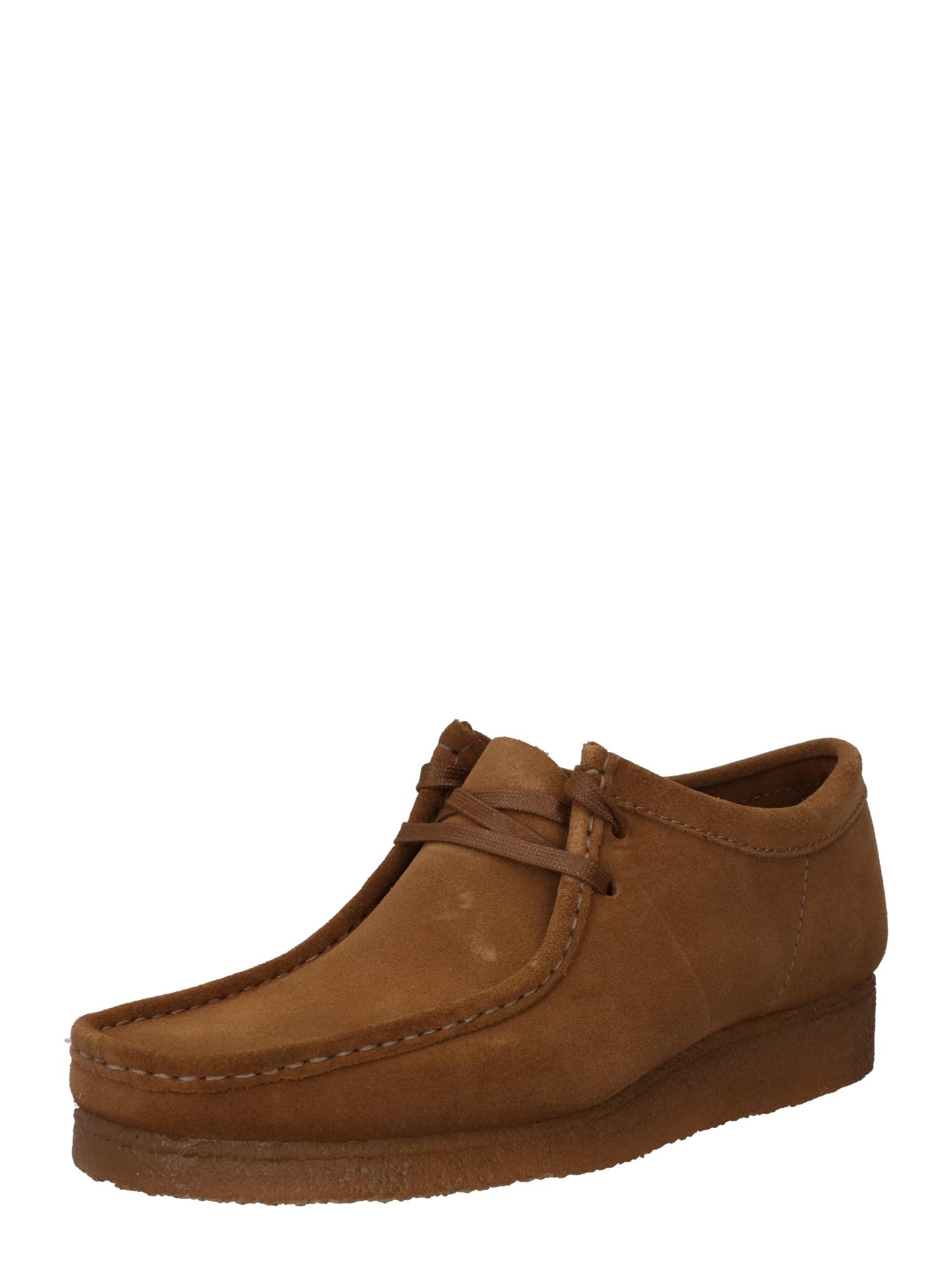 Clarks Originals Šněrovací boty 'Wallabee'  hnědá