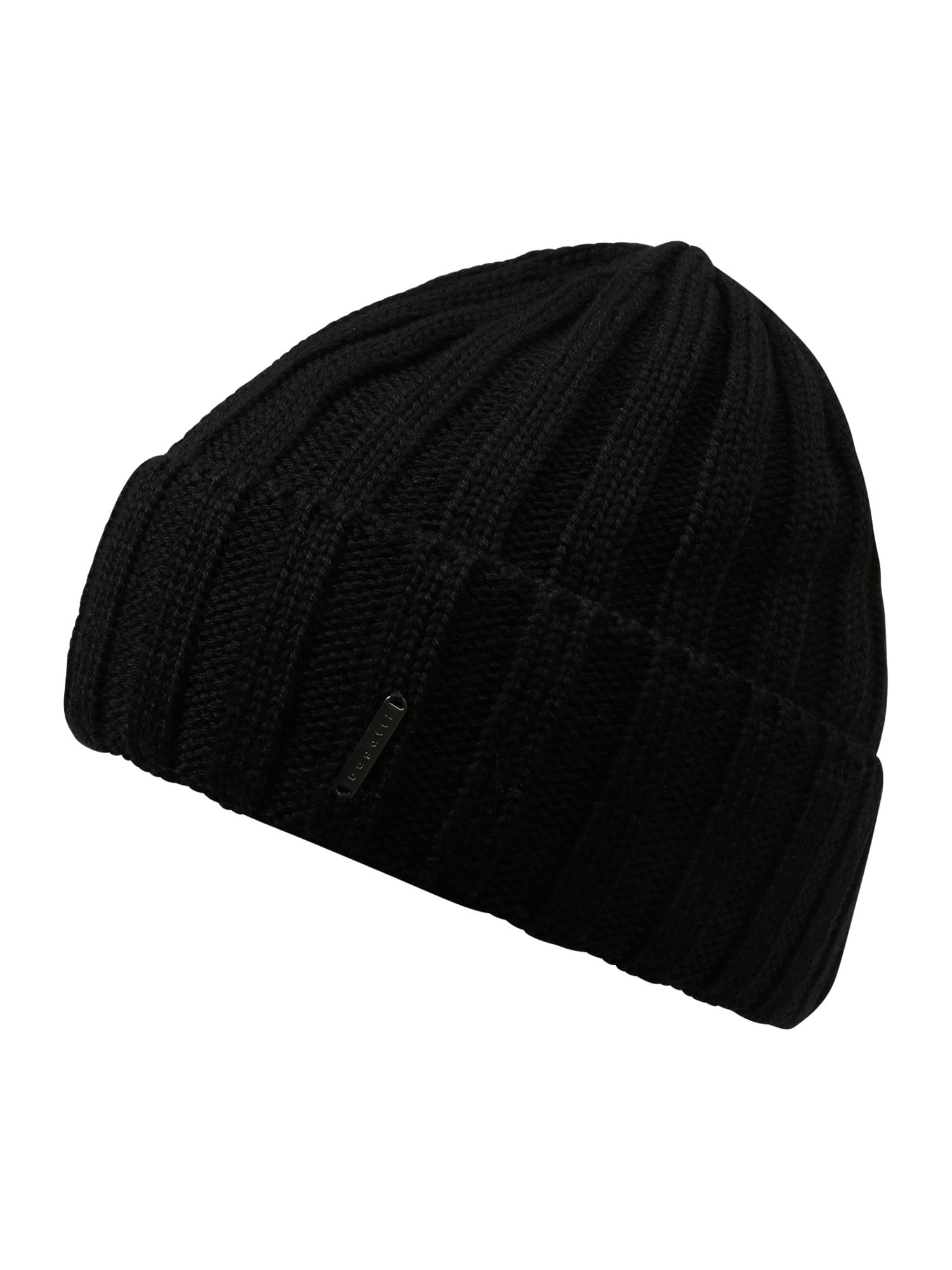 bugatti Megzta kepurė juoda