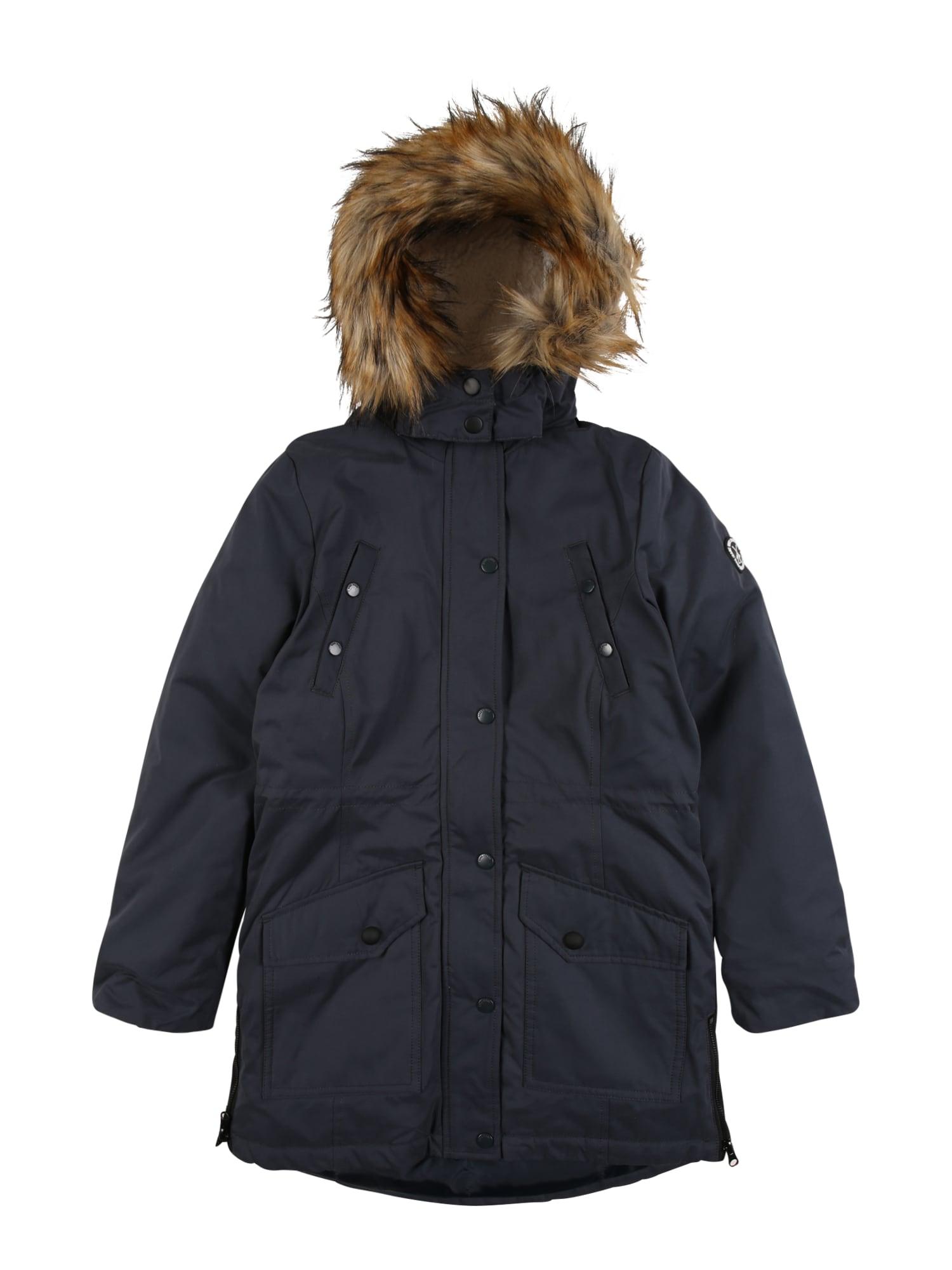 Cars Jeans Žieminė striukė 'EVELINA' tamsiai mėlyna