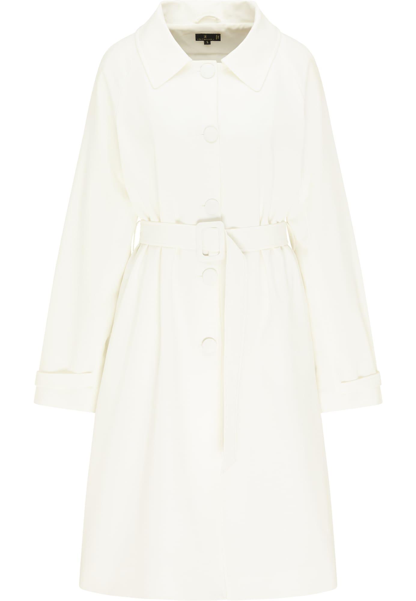 DreiMaster Klassik Demisezoninis paltas balta