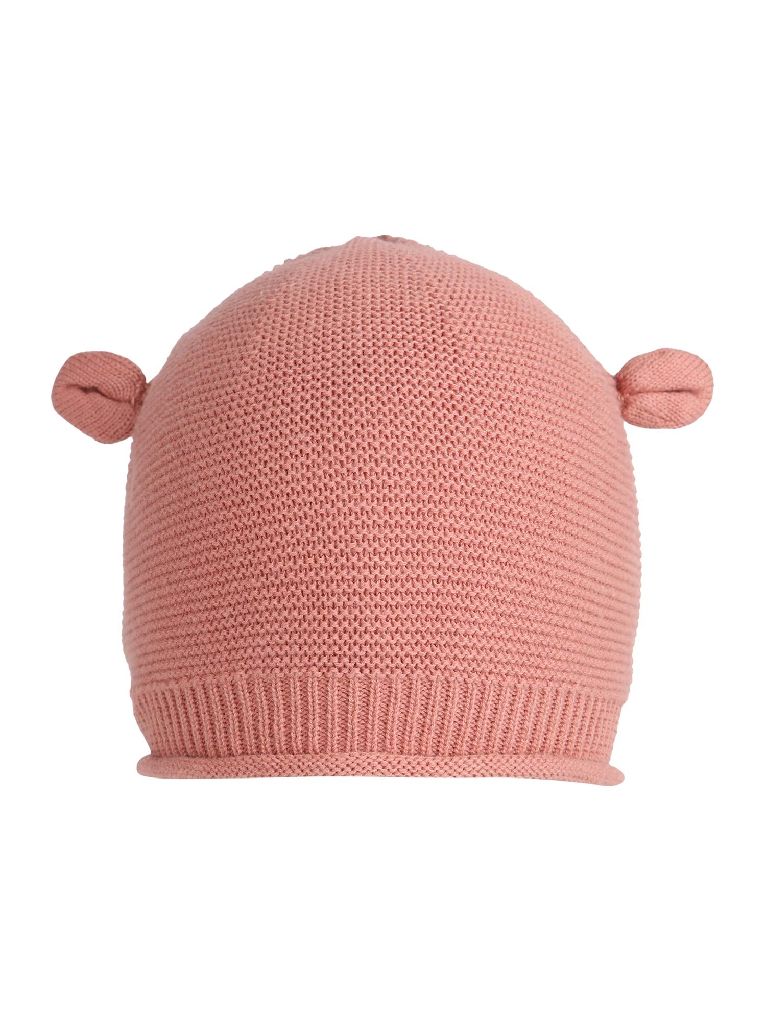 Hust & Claire Megzta kepurė 'Feri' ryškiai rožinė spalva