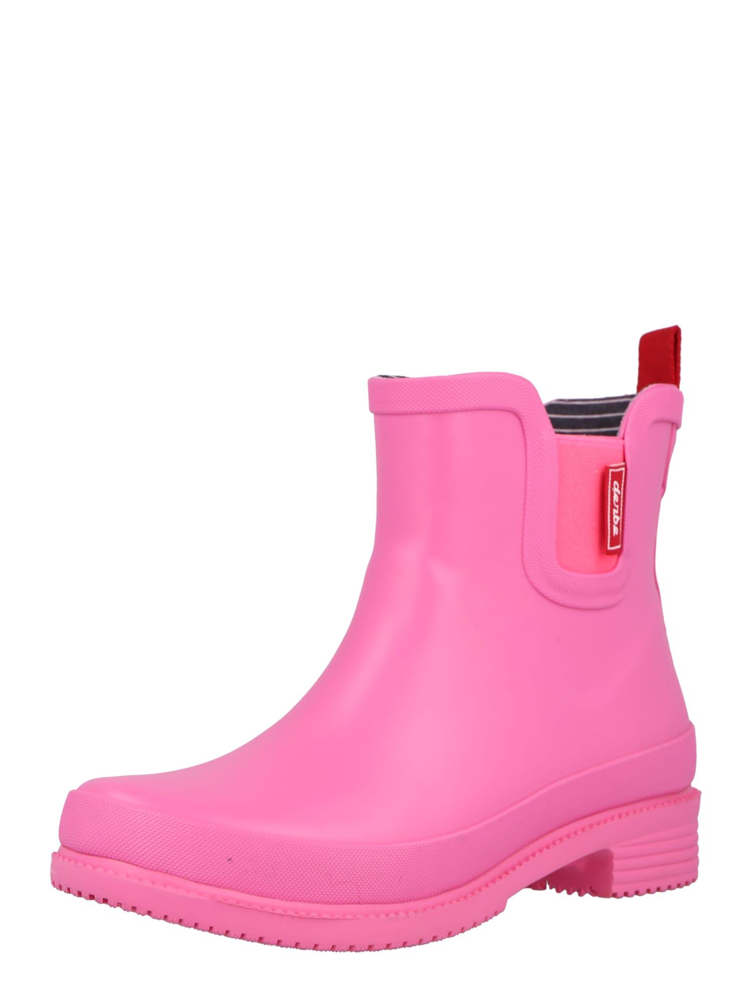 Derbe Guminiai batai rožinė