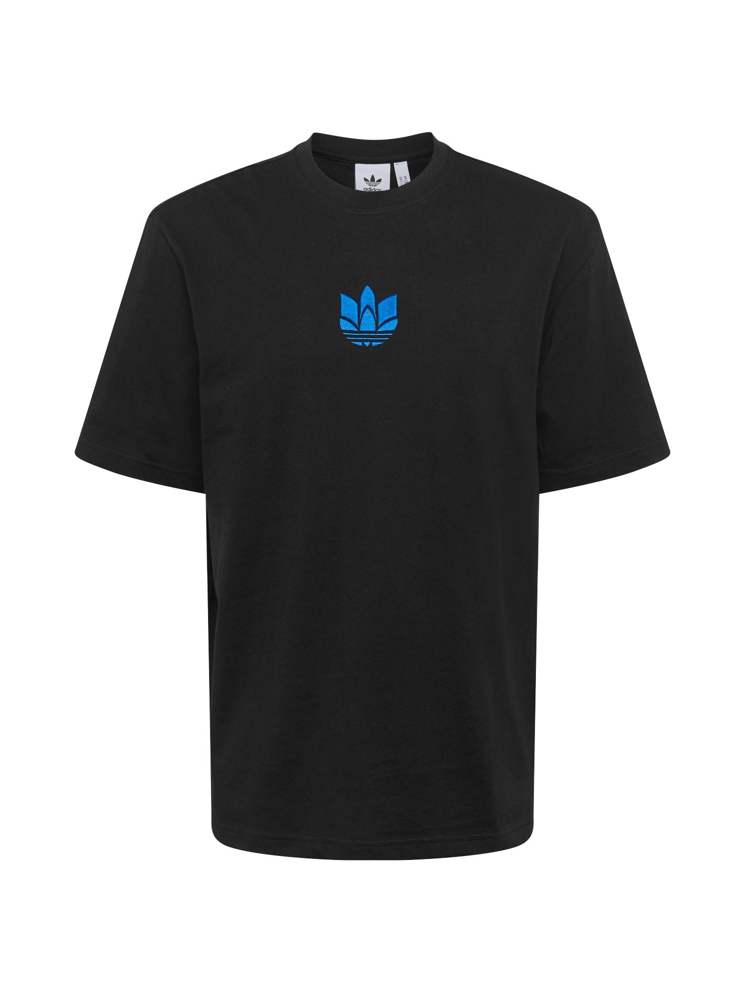 ADIDAS ORIGINALS Marškinėliai mėlyna / juoda