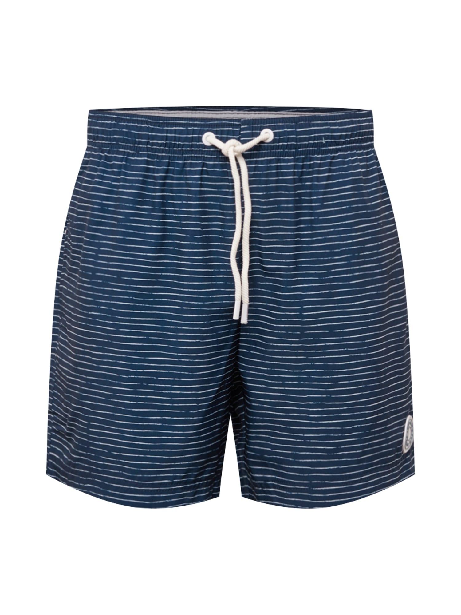 Ragwear Kelnės 'STANNIS' tamsiai mėlyna / balta