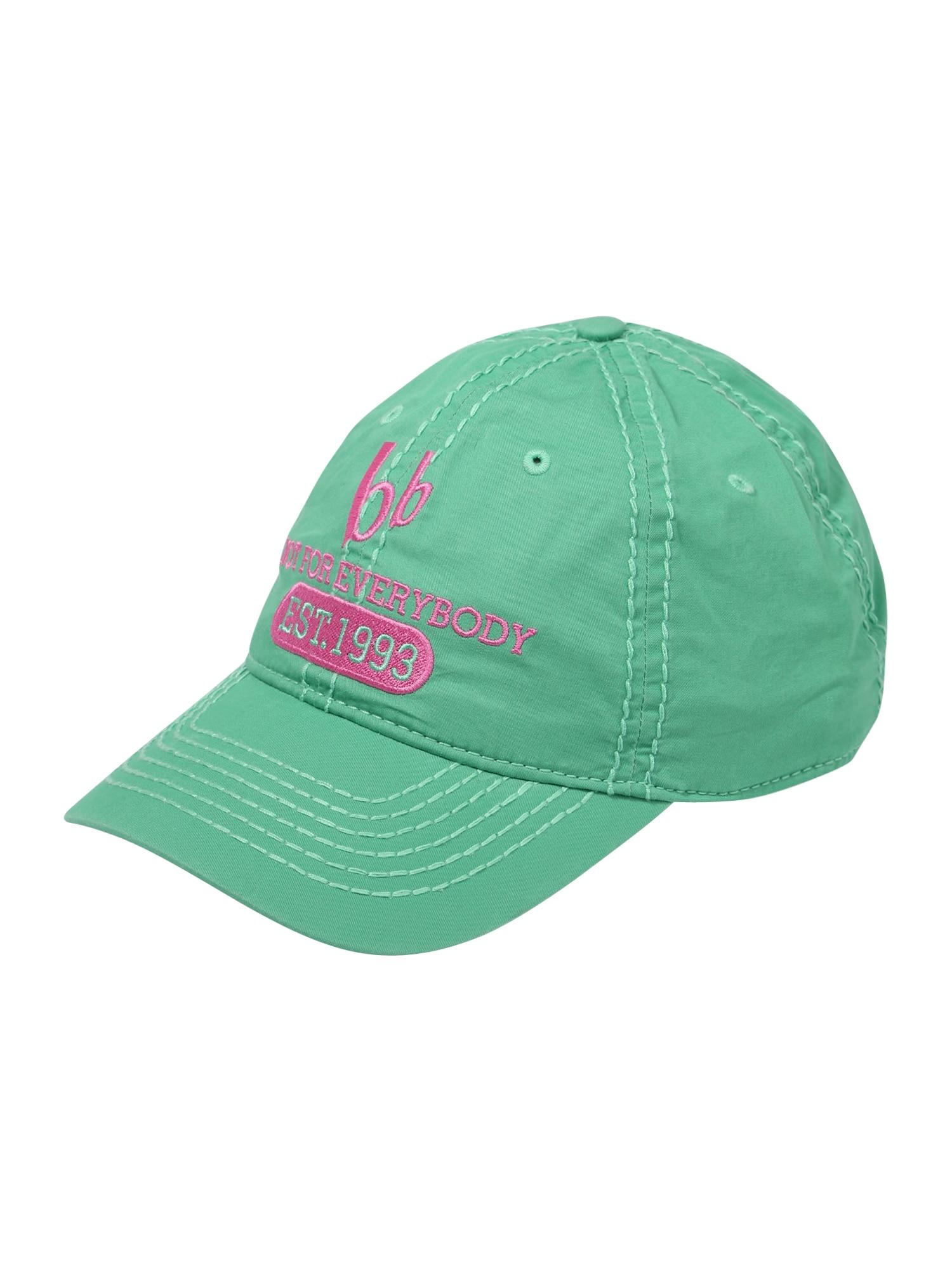 BRUNO BANANI Kepurė rožinė / nefrito spalva