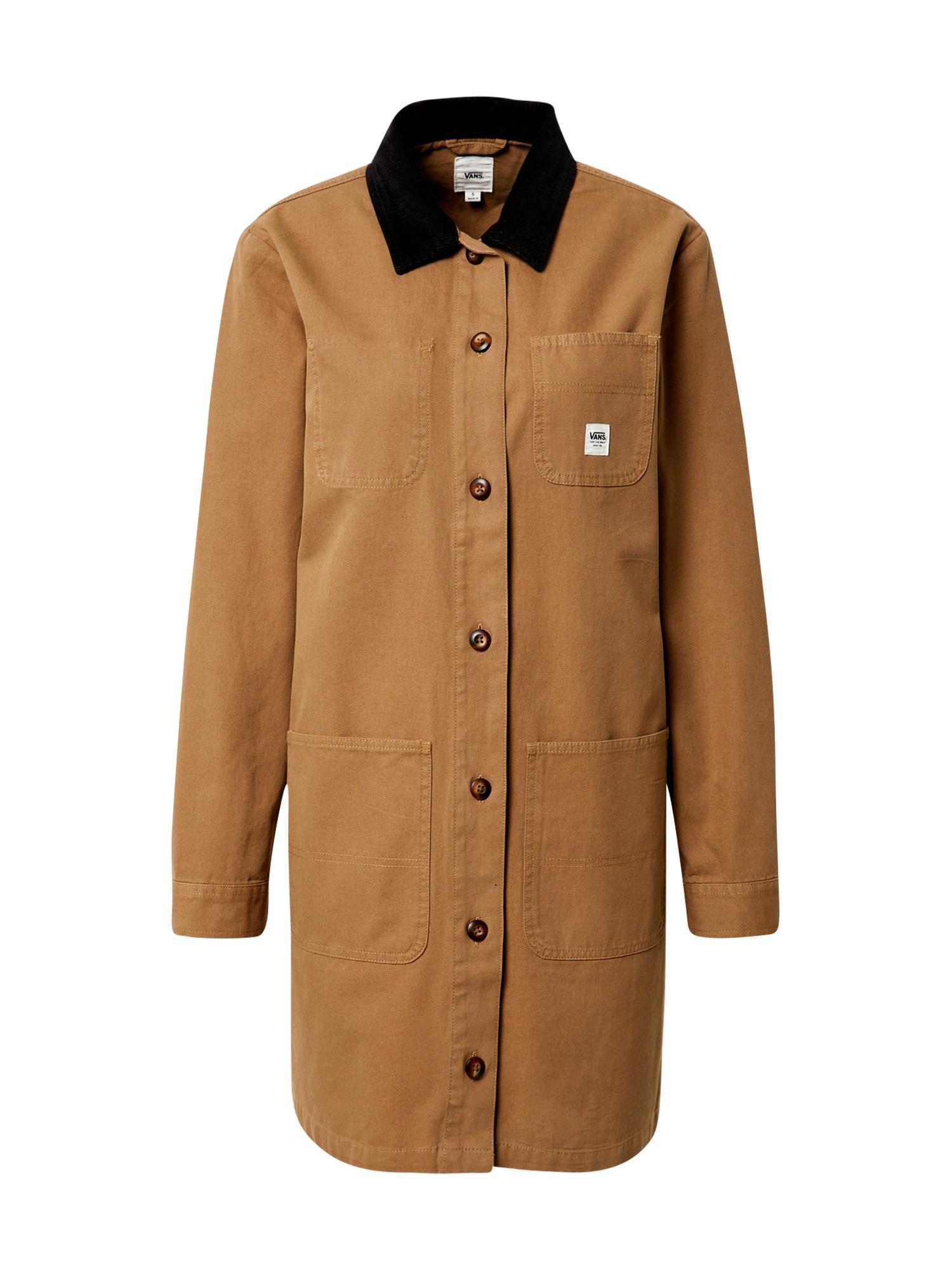 VANS Demisezoninis paltas ruda