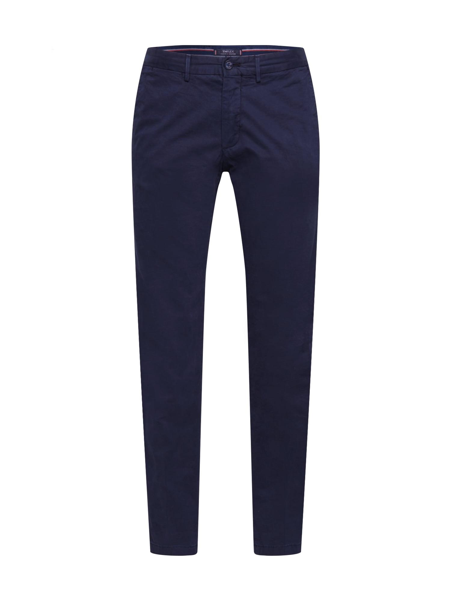 """Tommy Hilfiger Tailored """"Chino"""" stiliaus kelnės tamsiai mėlyna"""