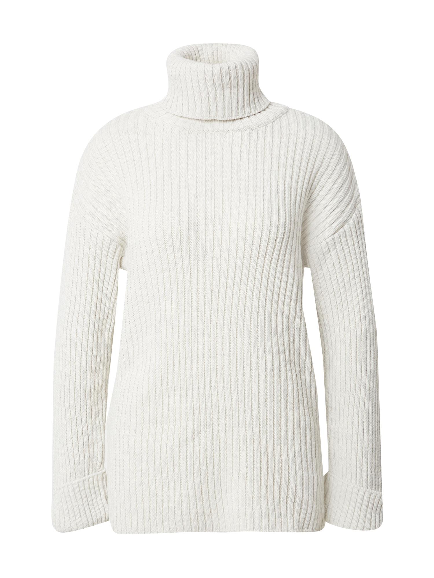 NA-KD Megztinis vilnos balta