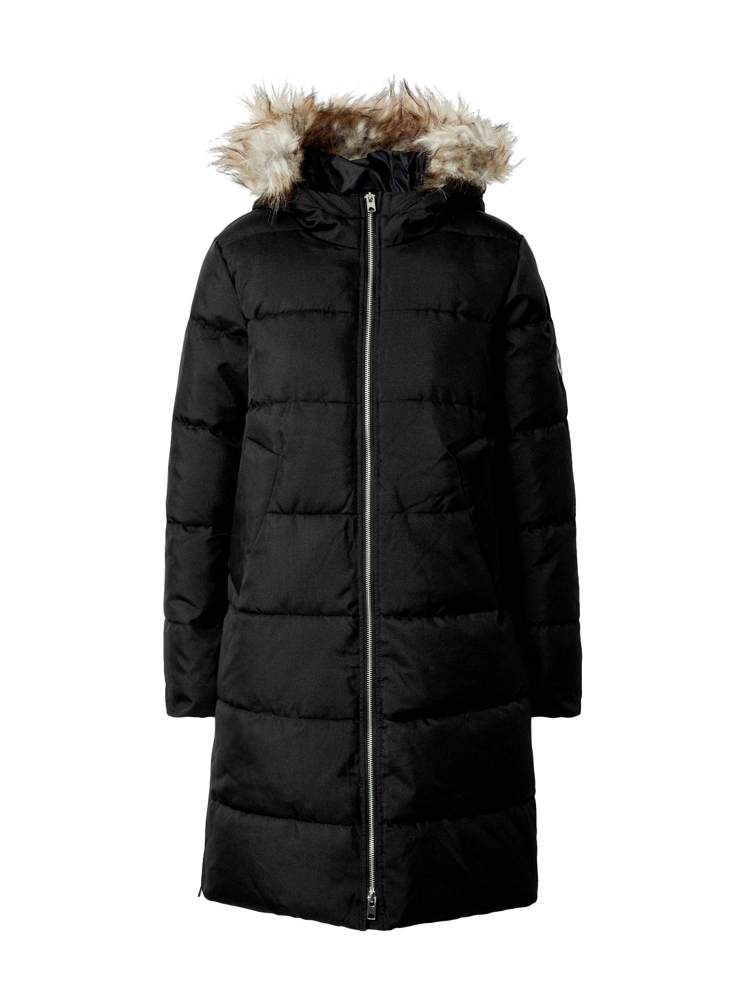 JACQUELINE de YONG Zimní kabát  černá