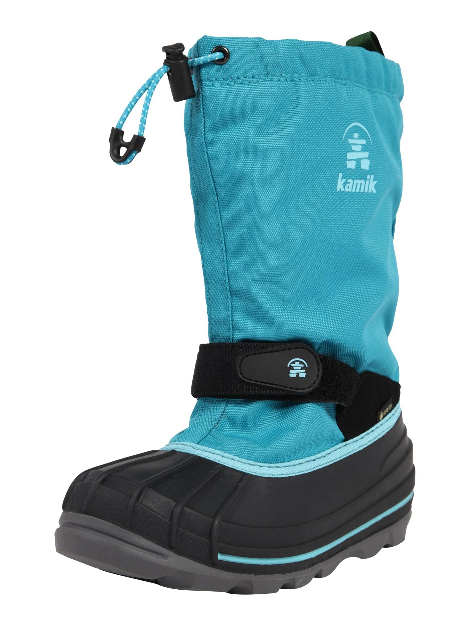 Kamik Sniego batai 'Waterbug' vandens spalva / juoda