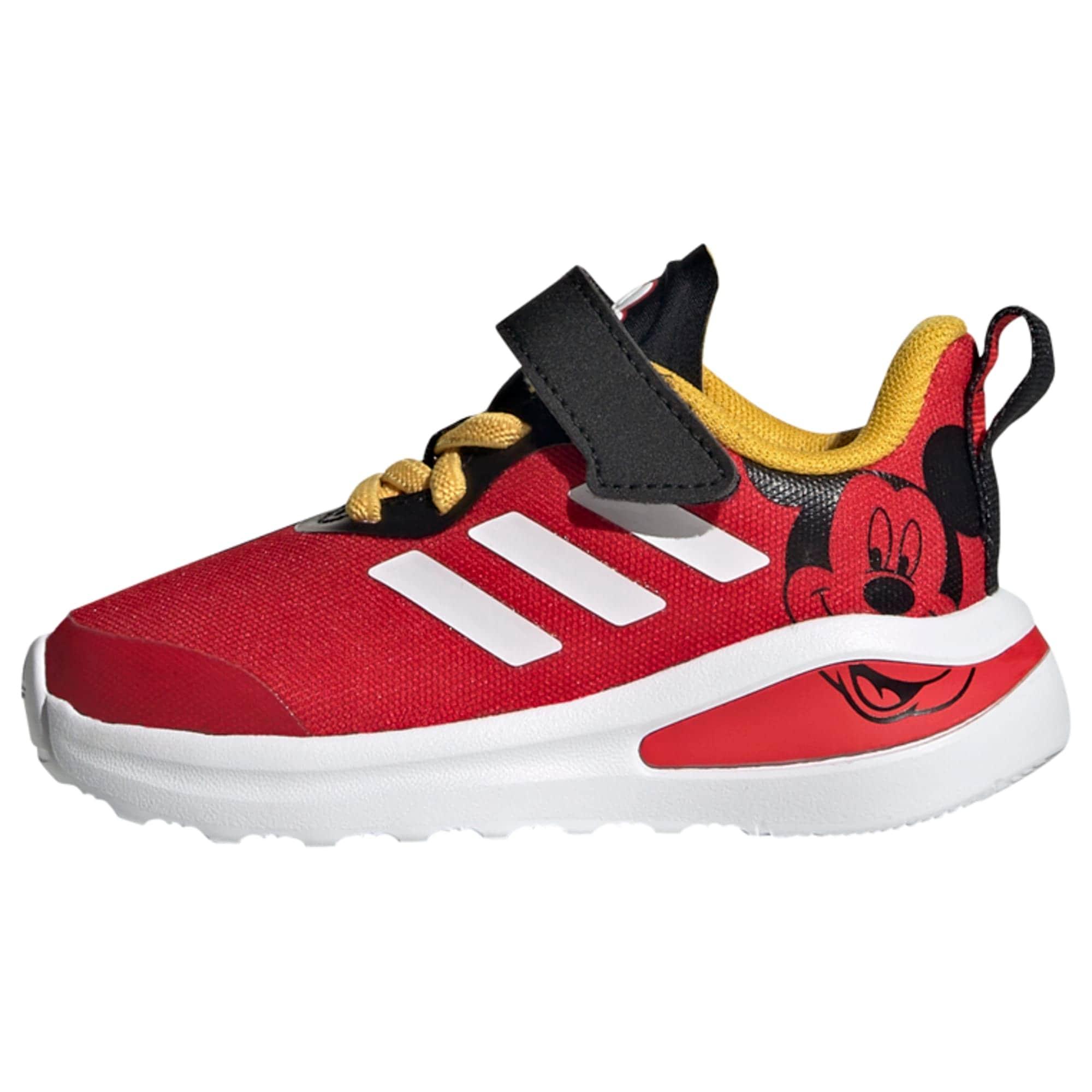 ADIDAS PERFORMANCE Sportiniai batai 'Disney Mickey FortaRun' raudona / balta / juoda