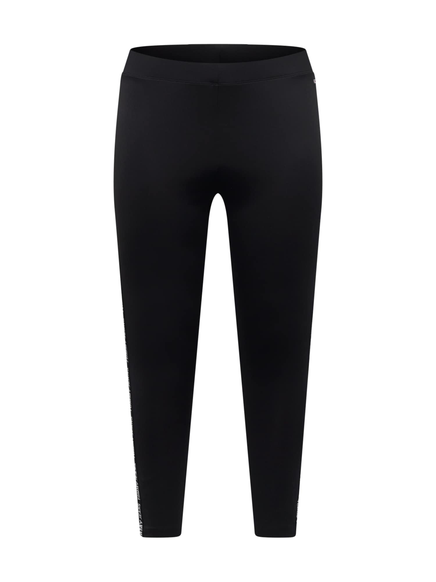 Tommy Jeans Curve Tamprės juoda / balta / raudona