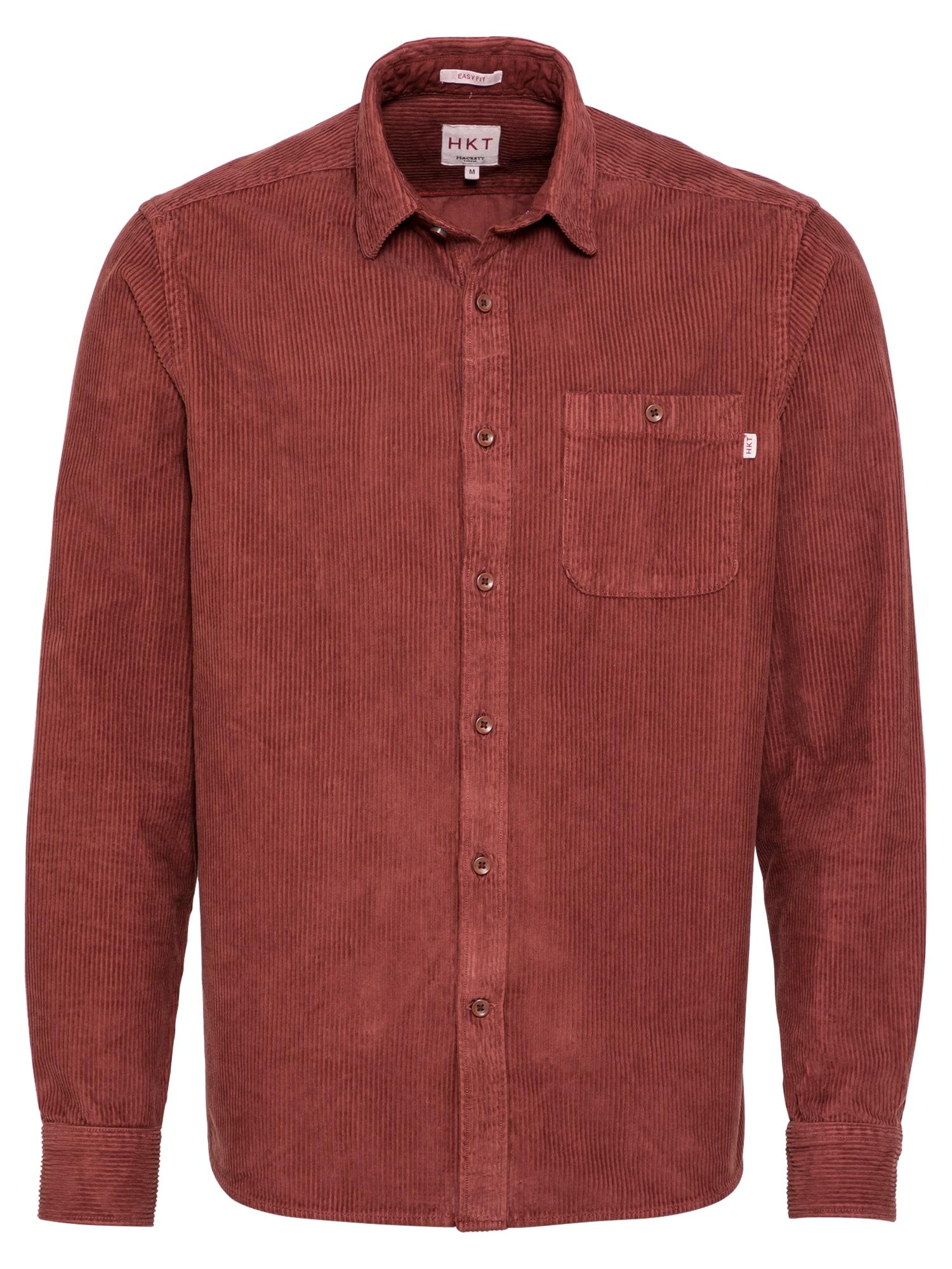 HKT by HACKETT Marškiniai rūdžių raudona