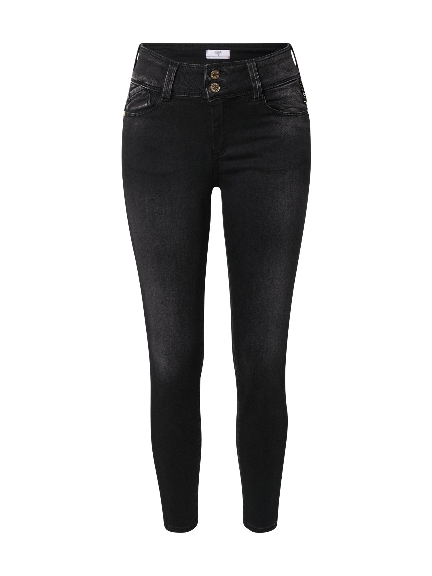Le Temps Des Cerises Džinsai juodo džinso spalva