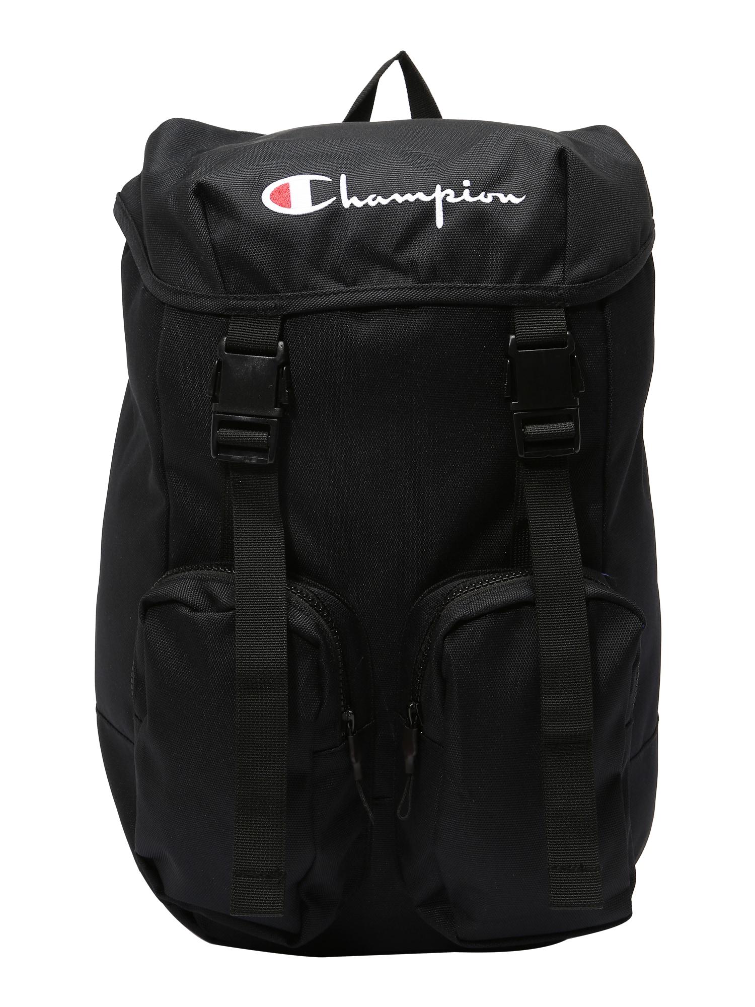 Champion Reverse Weave Kuprinė juoda / balta
