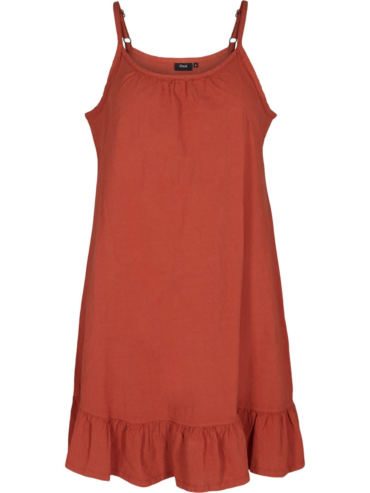 Zizzi Letní šaty 'Jeasy'  humrová