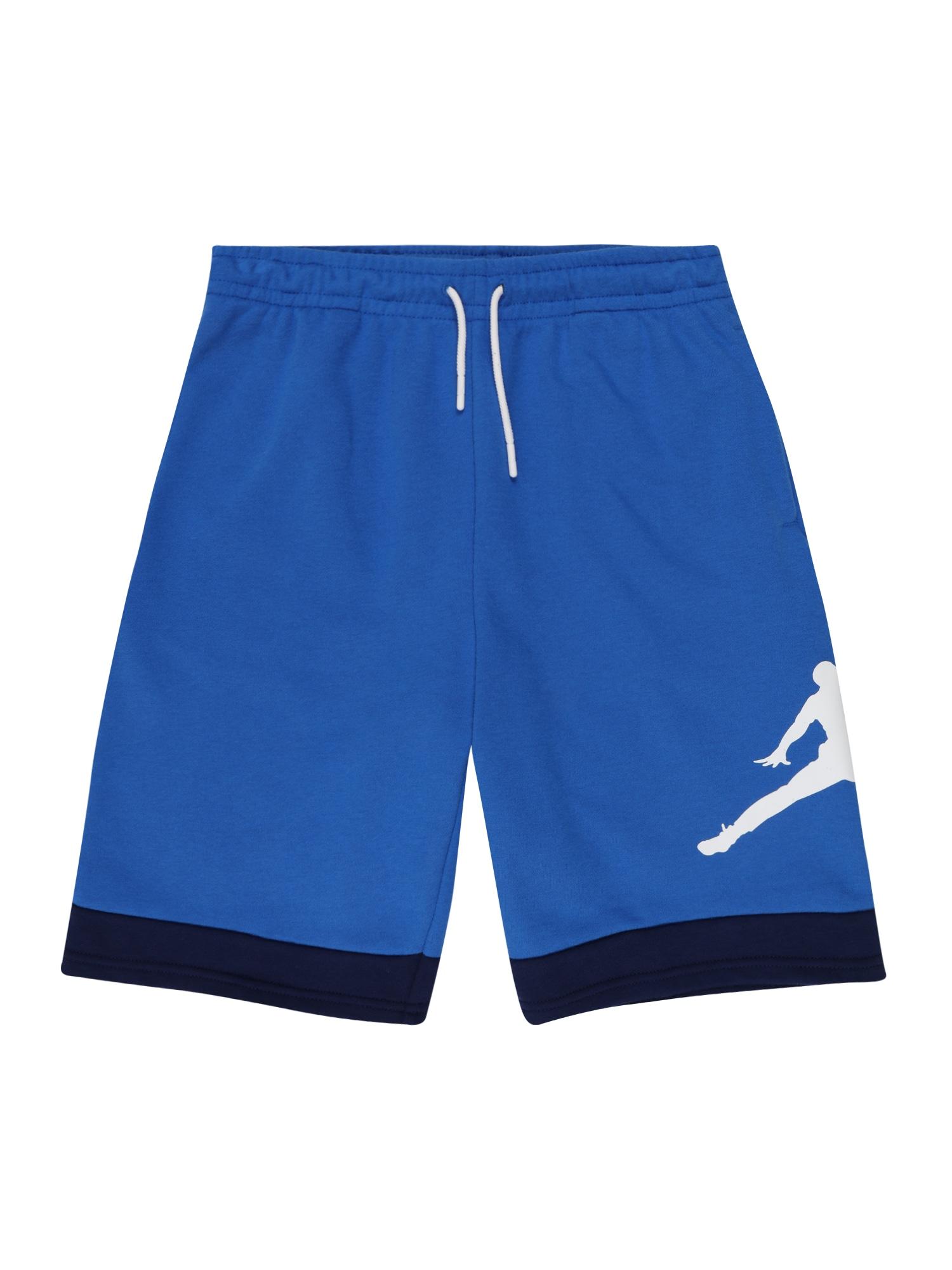 Jordan Kelnės mėlyna / tamsiai mėlyna / balta