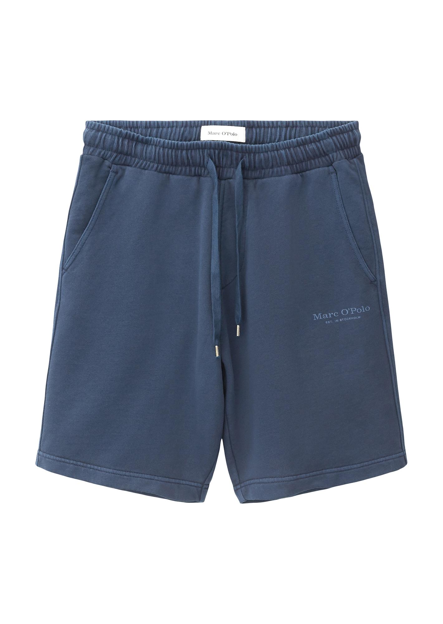 Marc O'Polo Kalhoty  modrá