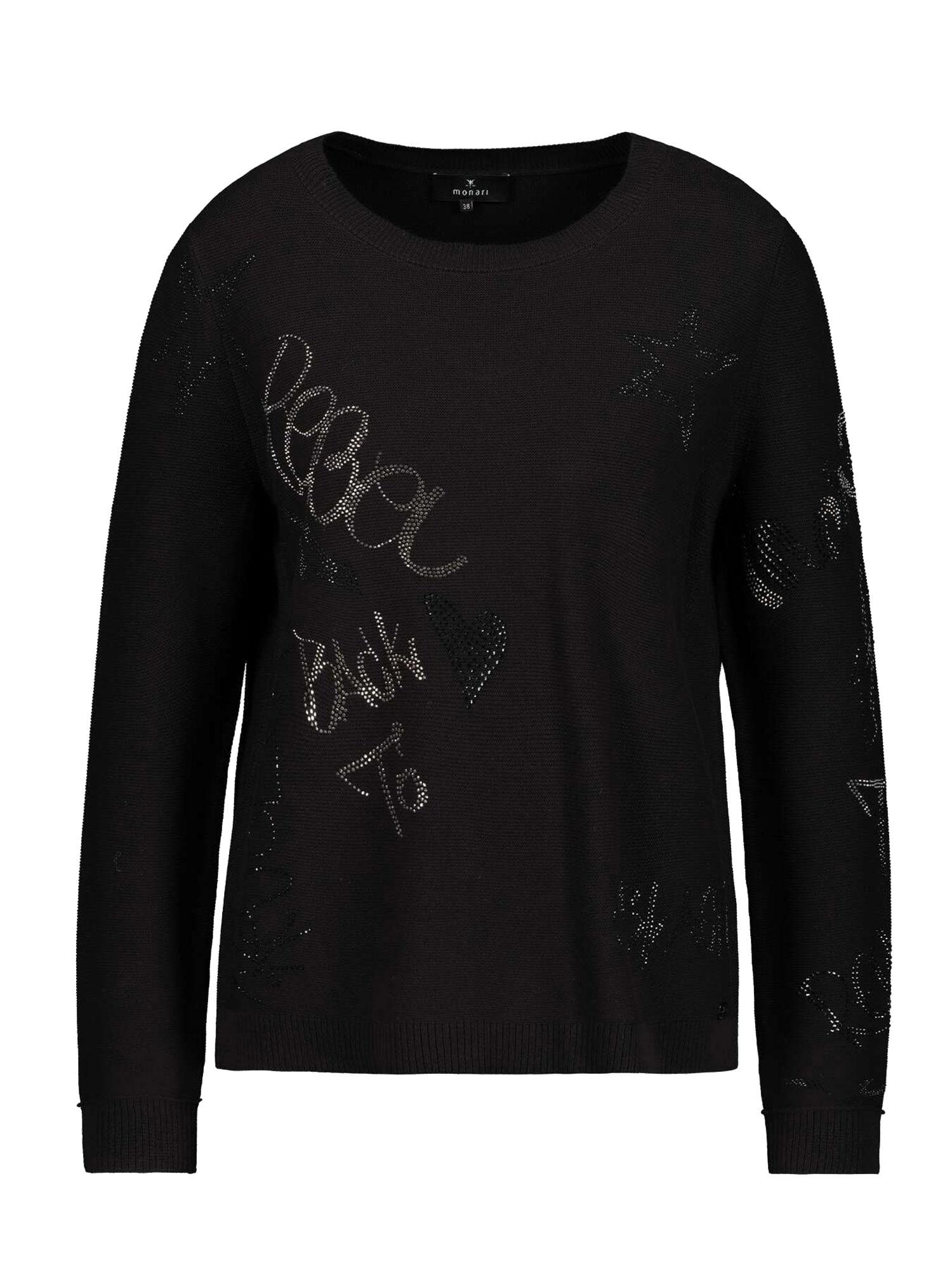 monari Megztinis juoda / pilka