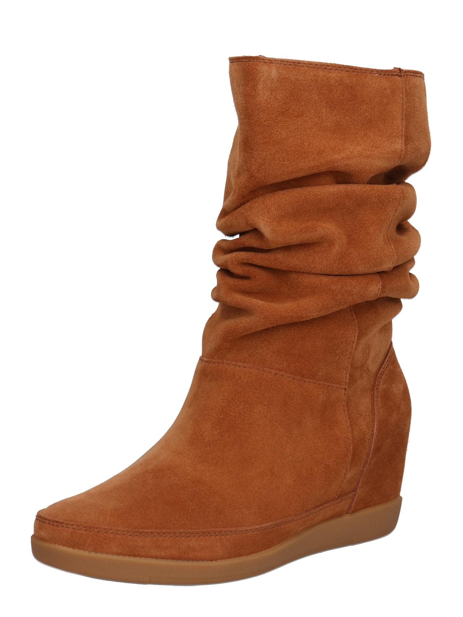 Shoe The Bear Čižmy  hnedá