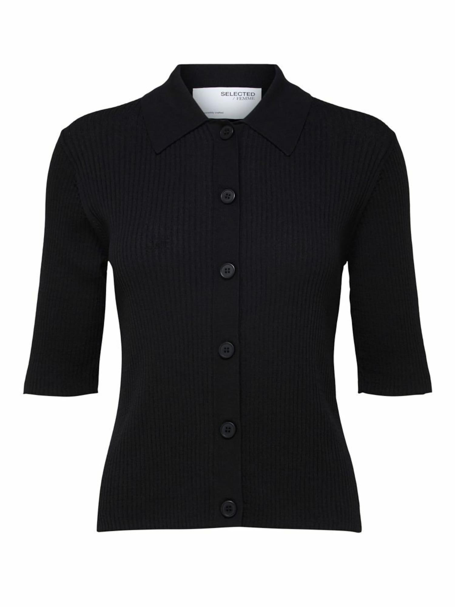 Selected Femme Petite Kardiganas juoda