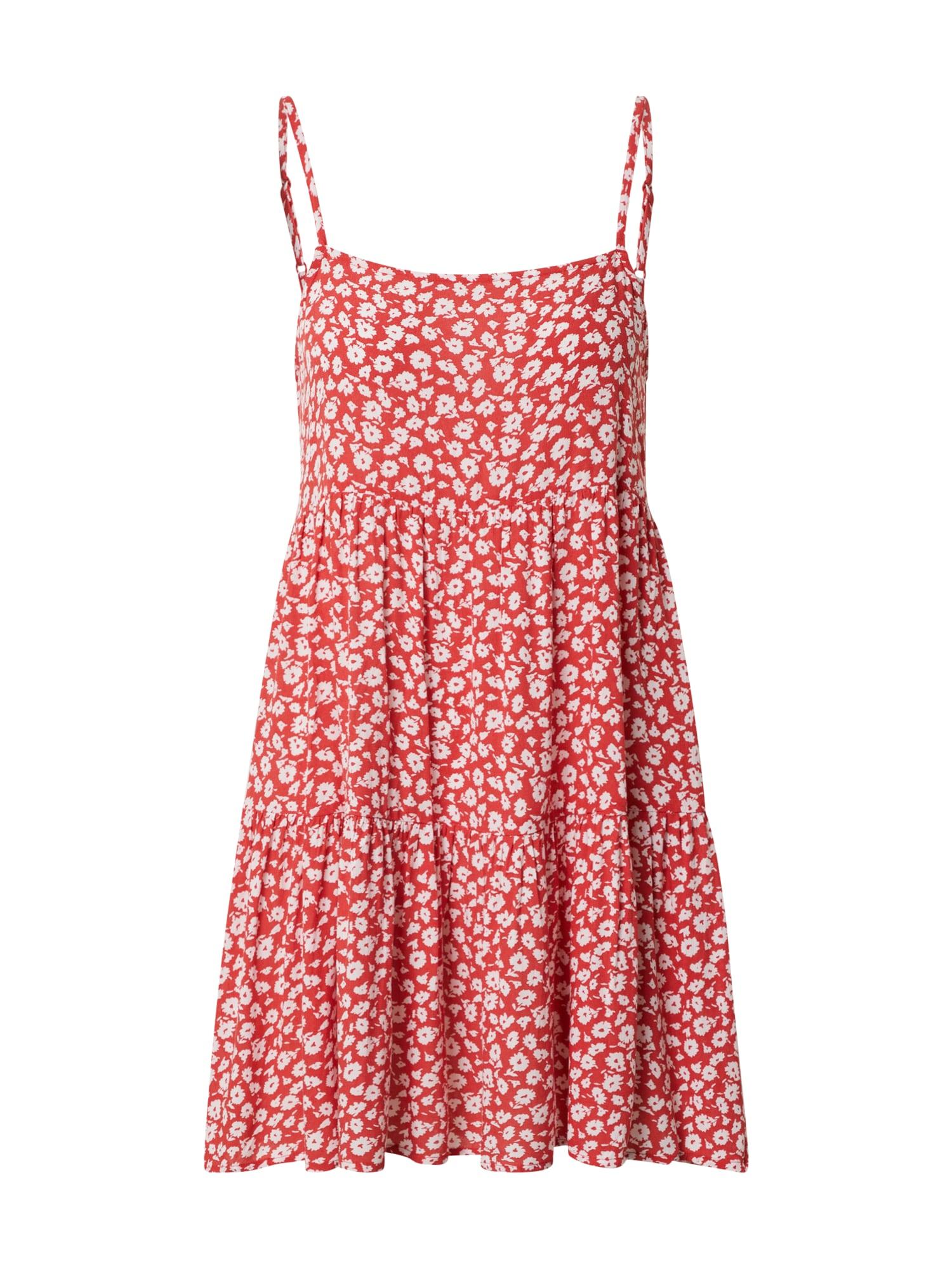 American Eagle Letní šaty 'KELSEY STRAPPY BABYBOLL'  červená