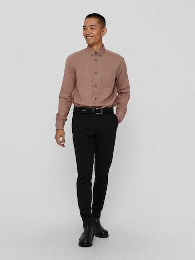 Only & Sons Bryce Life Hemd aus Bio-Baumwolle in normaler Passform