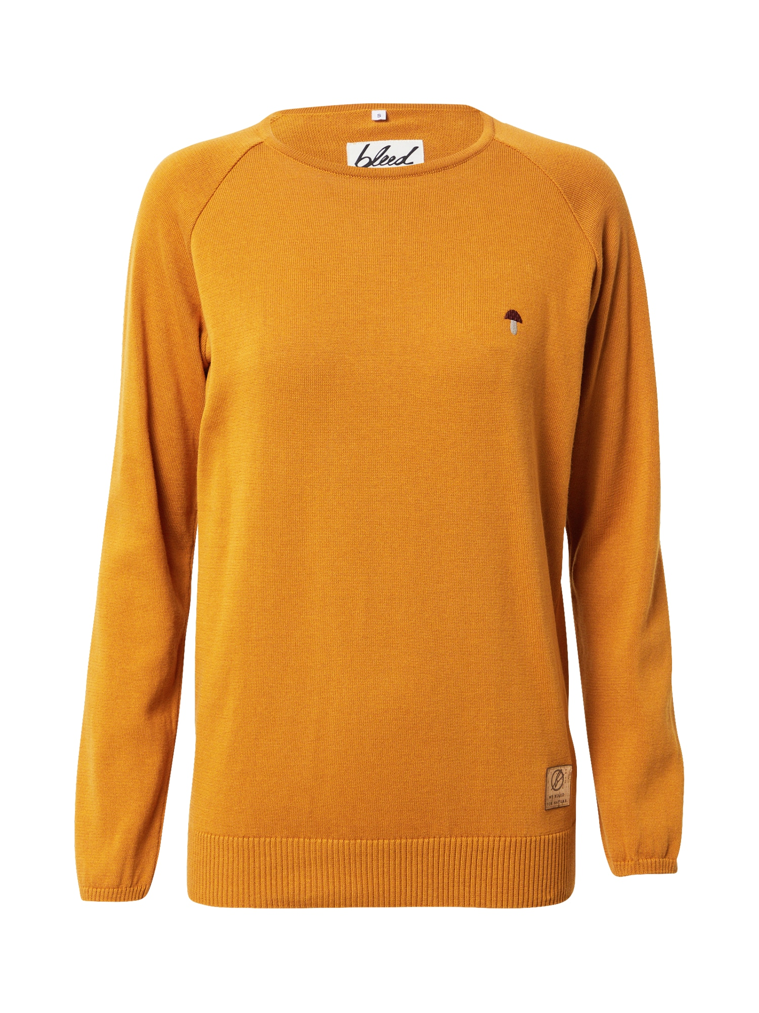 bleed clothing Megztinis tamsiai geltona