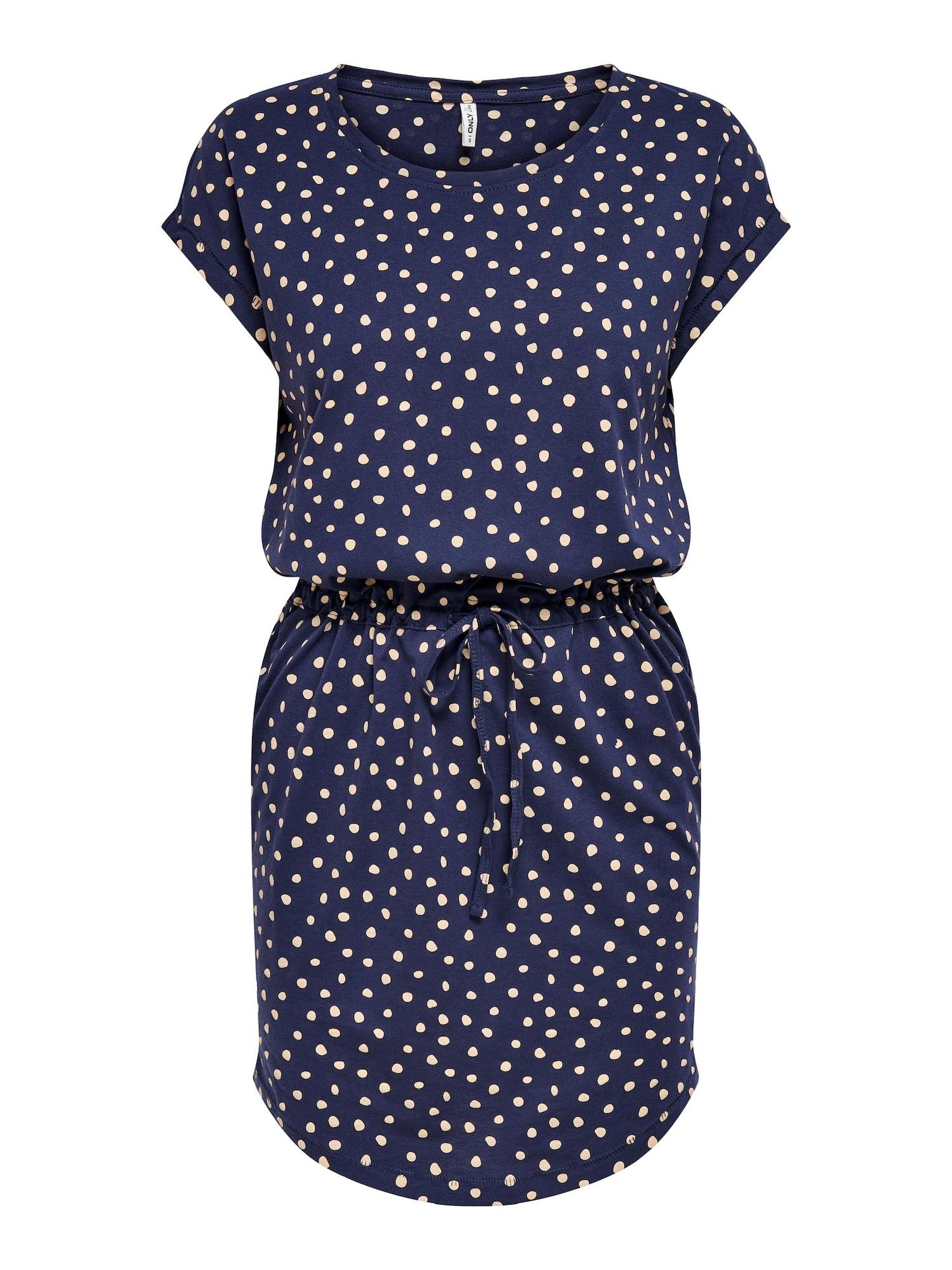 ONLY Šaty 'May'  noční modrá / béžová