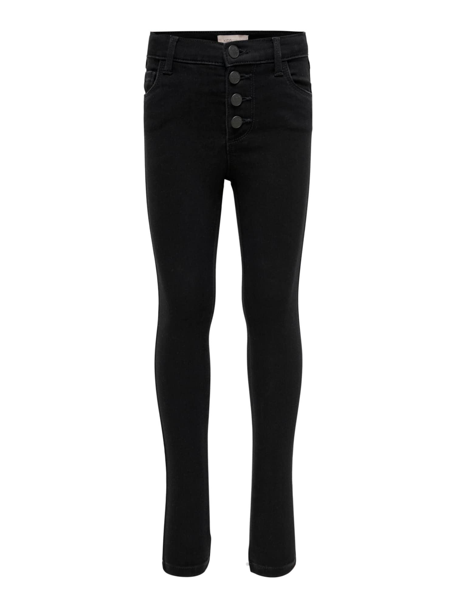 KIDS ONLY Džinsai juodo džinso spalva