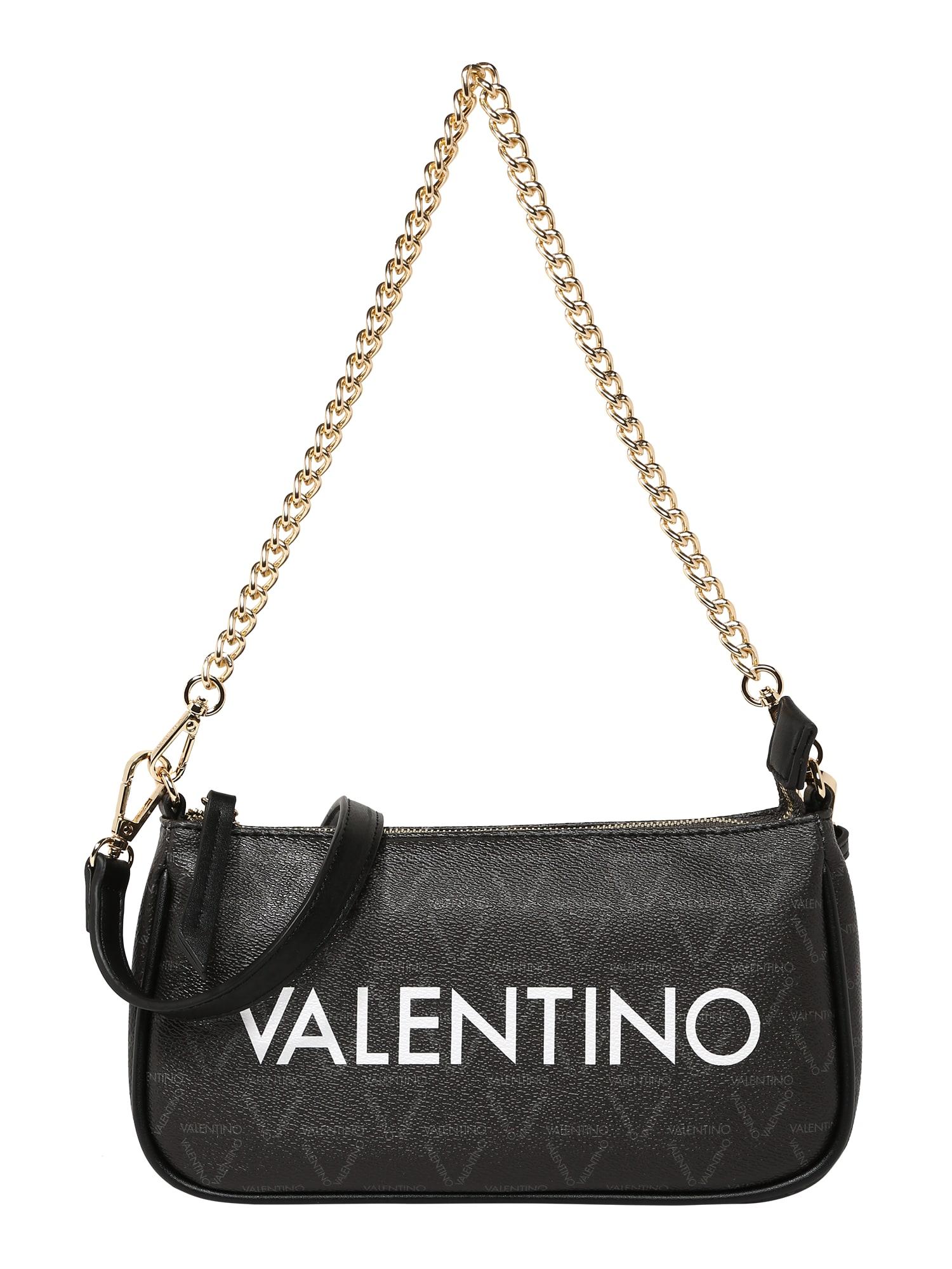 Valentino by Mario Valentino Taška přes rameno 'LIUTO'  černá / bílá