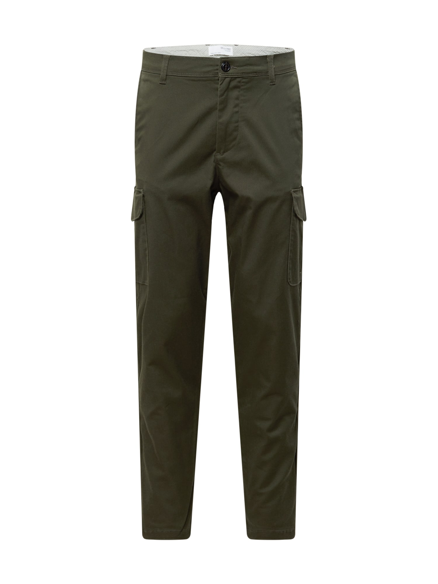 SELECTED HOMME Kalhoty  hnědá