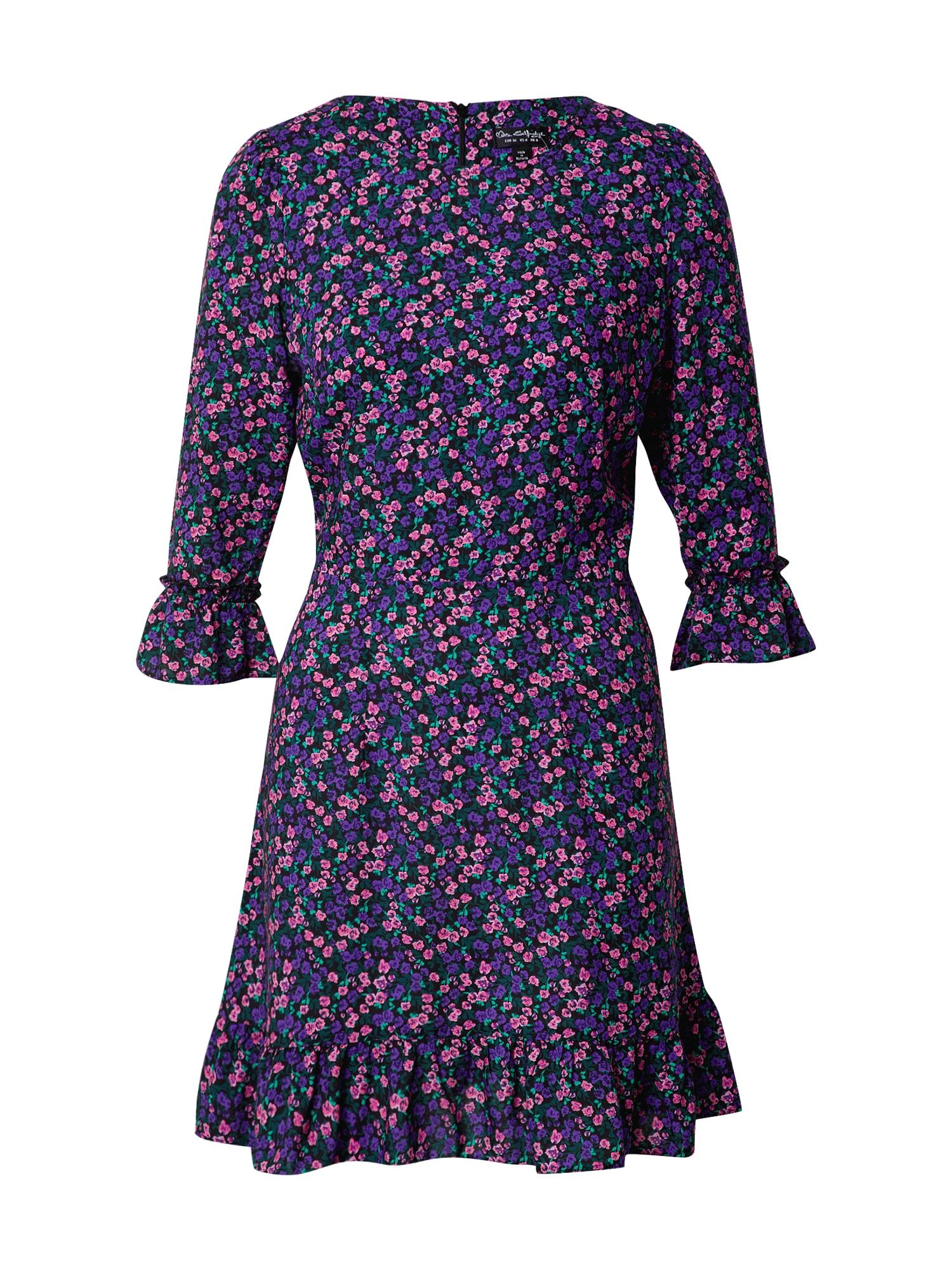 Miss Selfridge Šaty 'Ditsy'  fialová / mix barev