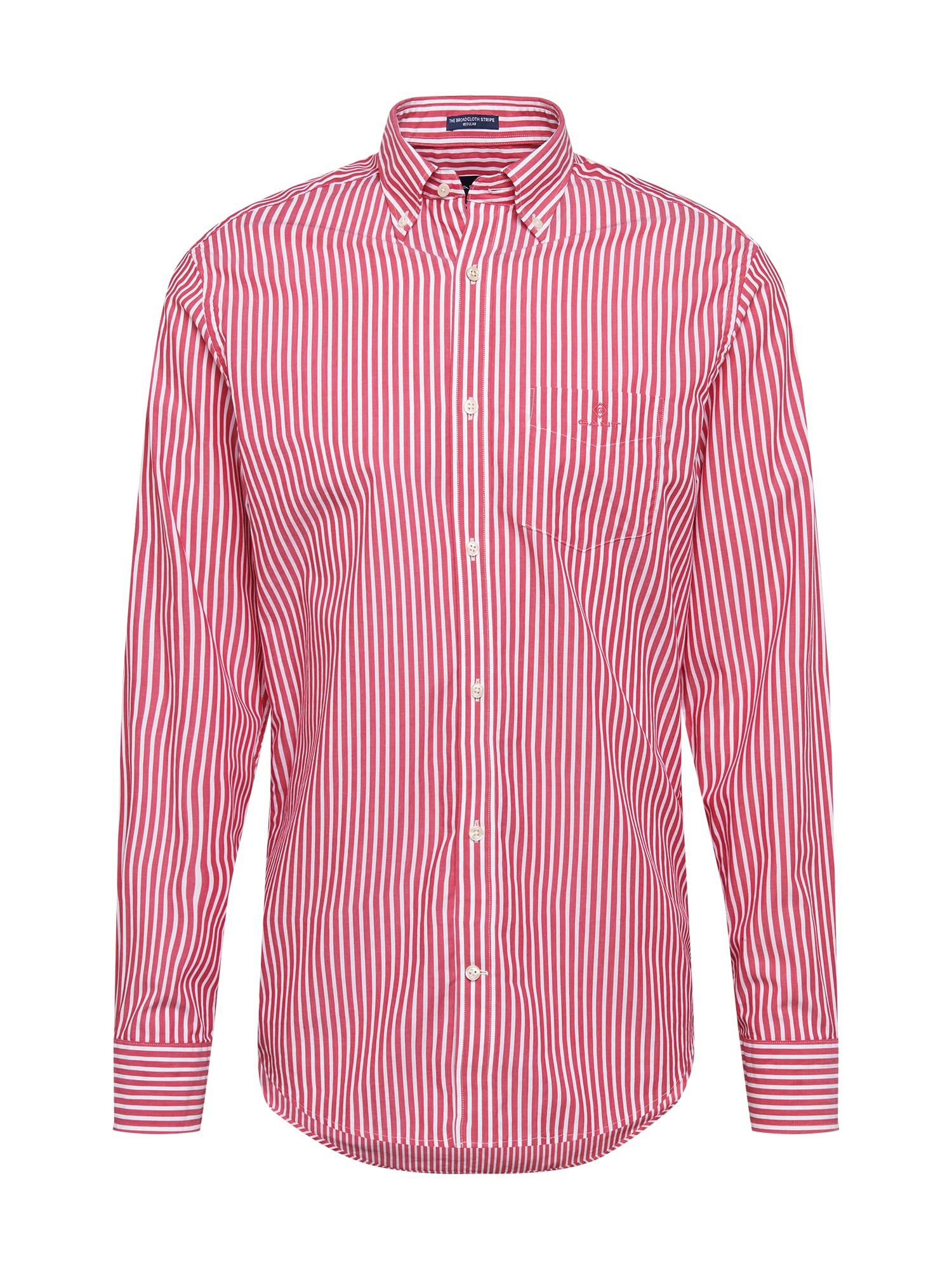 GANT Marškiniai raudona / margai rožinė