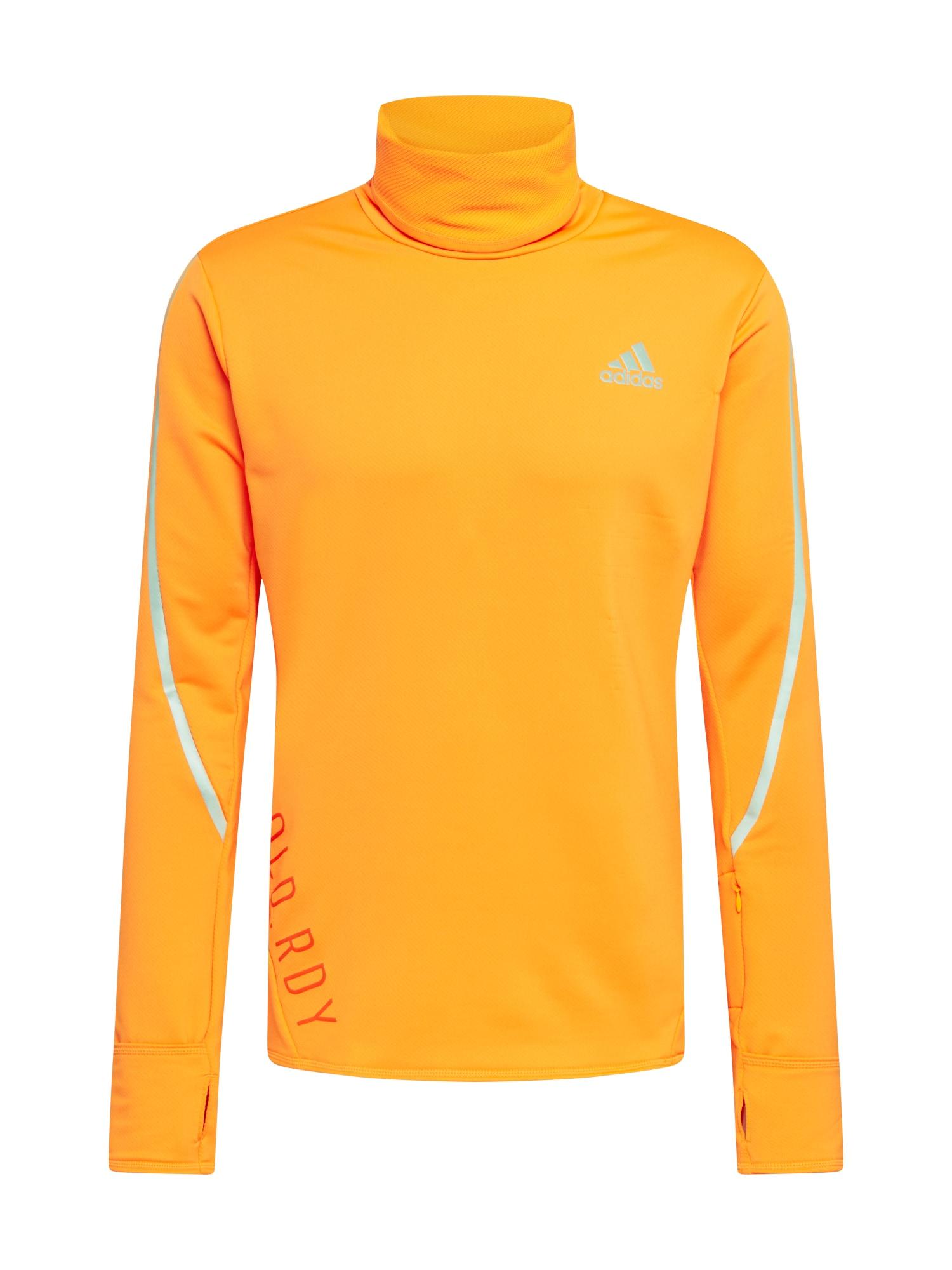 ADIDAS PERFORMANCE Funkční tričko  svítivě oranžová / červená / šedá
