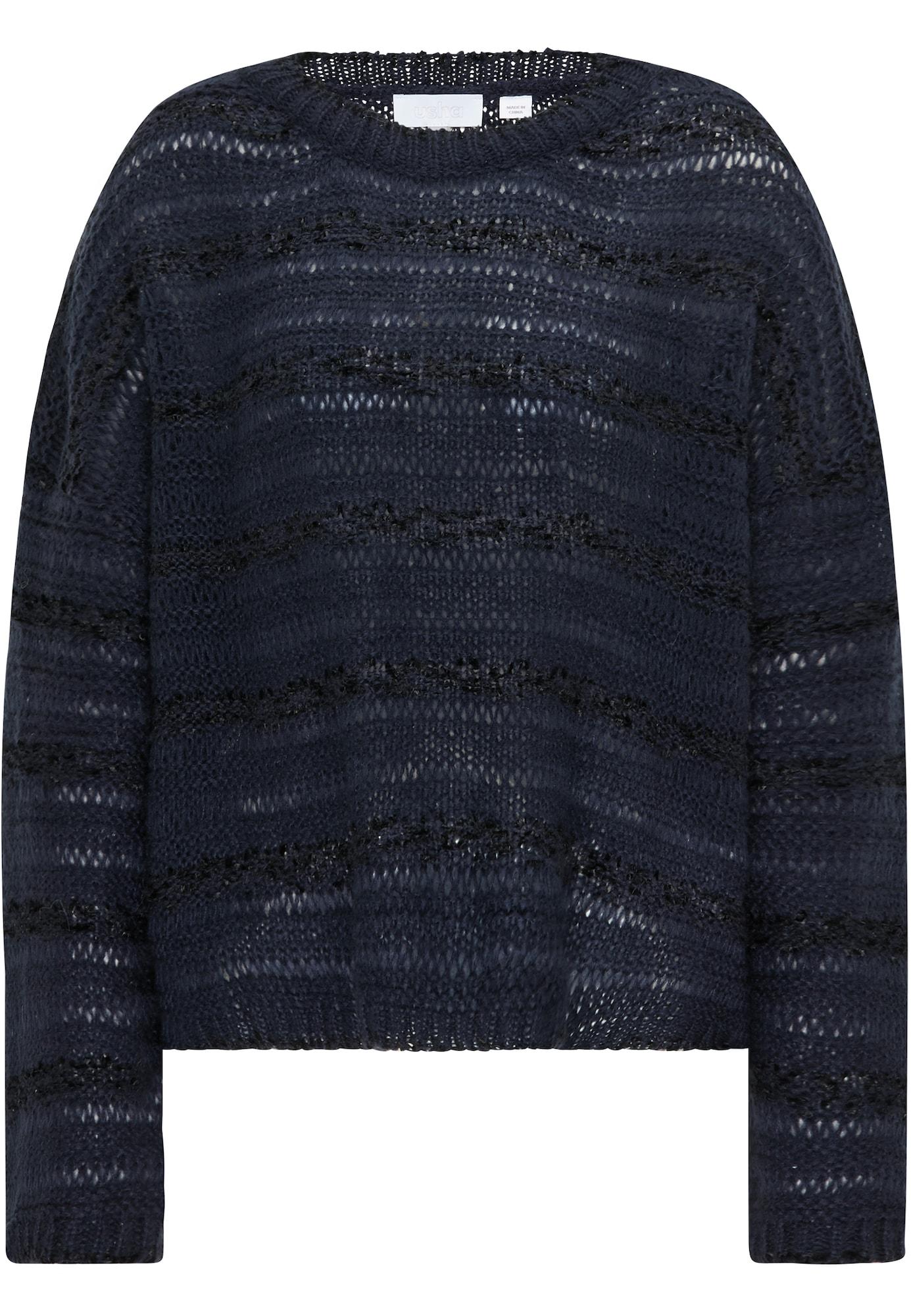 usha WHITE LABEL Megztinis mėlyna / nakties mėlyna