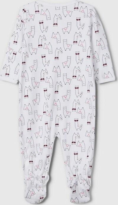 Name It Baby Claret Langarm-Alpaka-Schlafanzug 2er-Pack