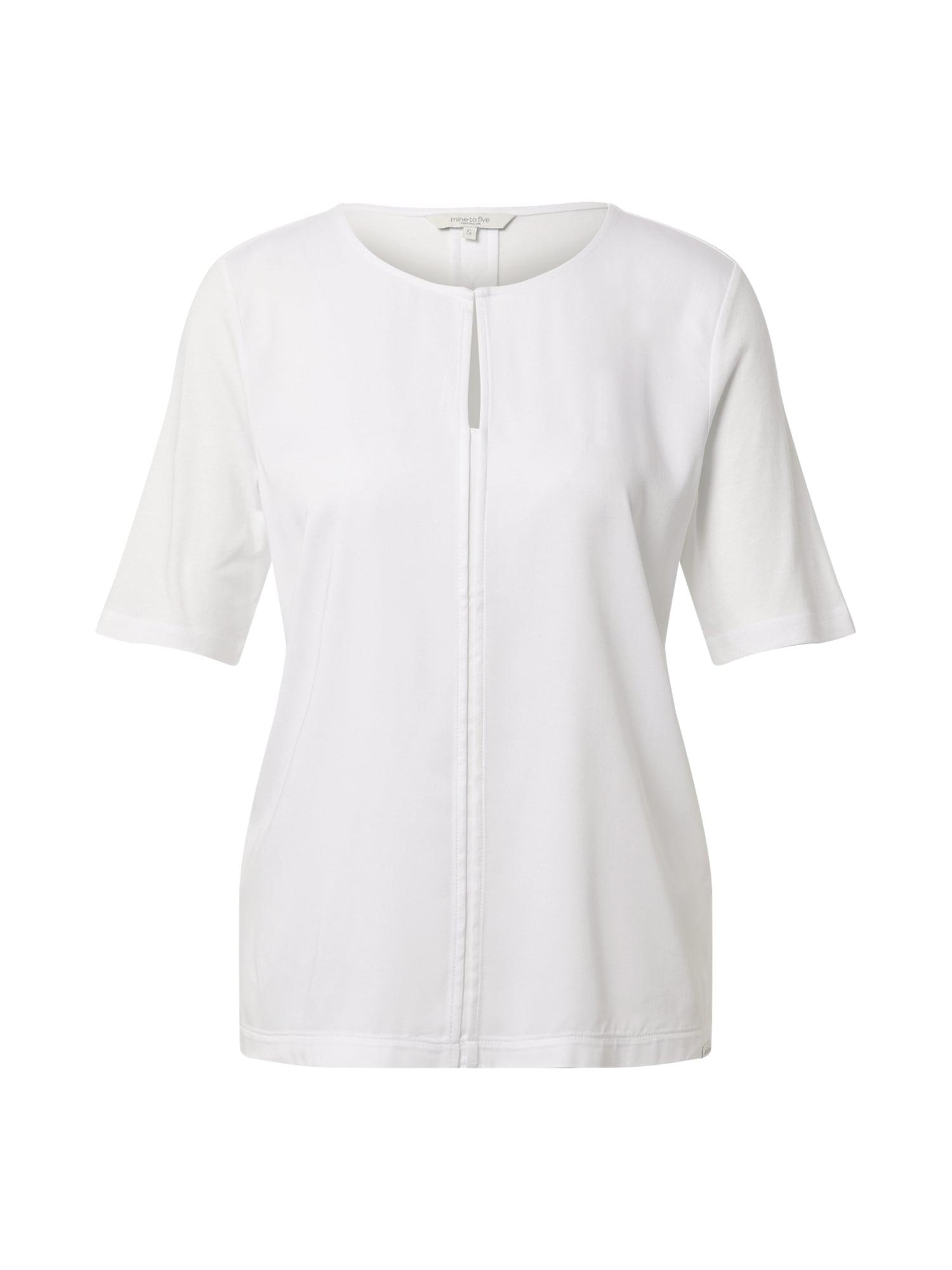 MINE TO FIVE Marškinėliai balta