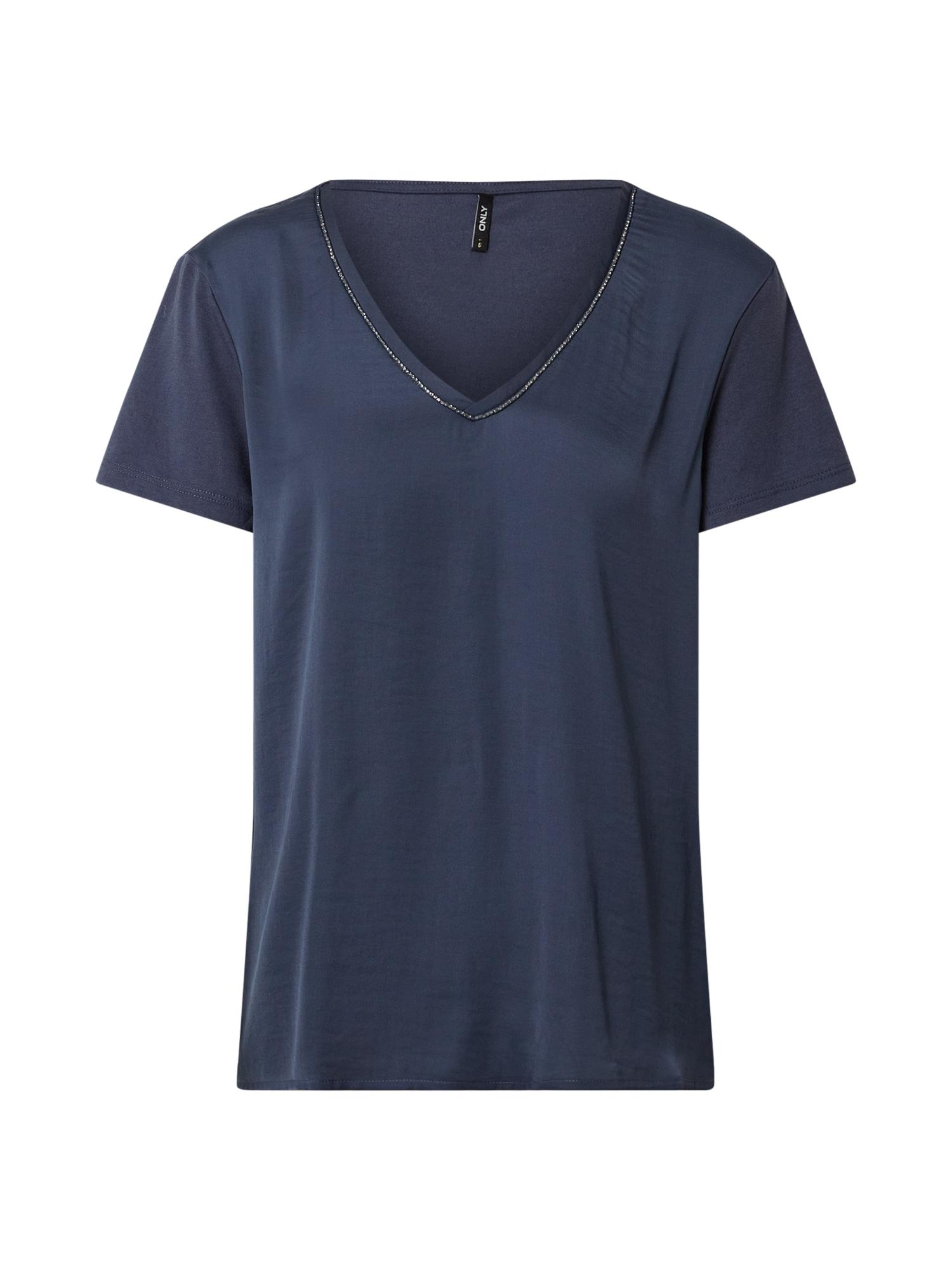 ONLY Tričko 'Ava'  tmavě modrá