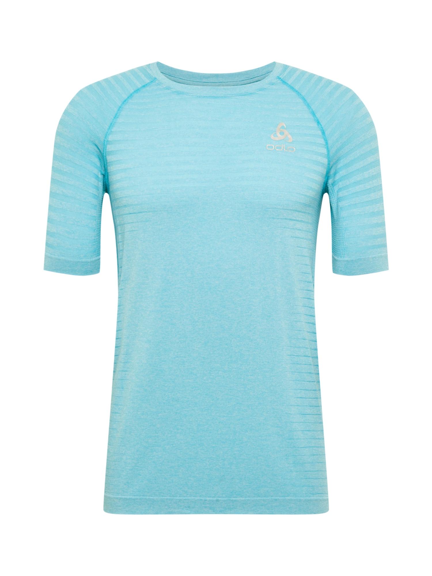 ODLO Sportiniai marškinėliai šviesiai mėlyna / sidabrinė