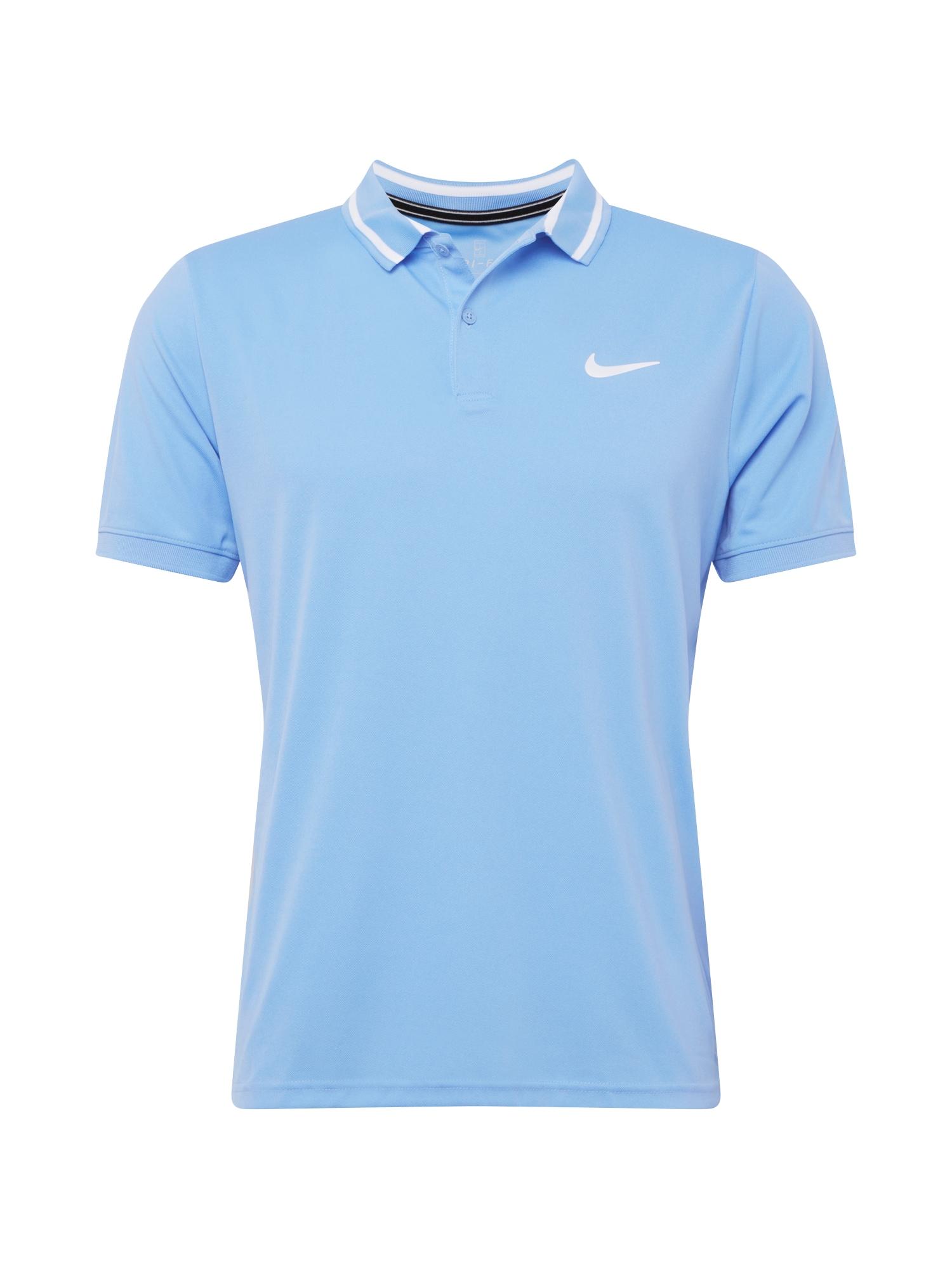 NIKE Funkční tričko  modrá / bílá