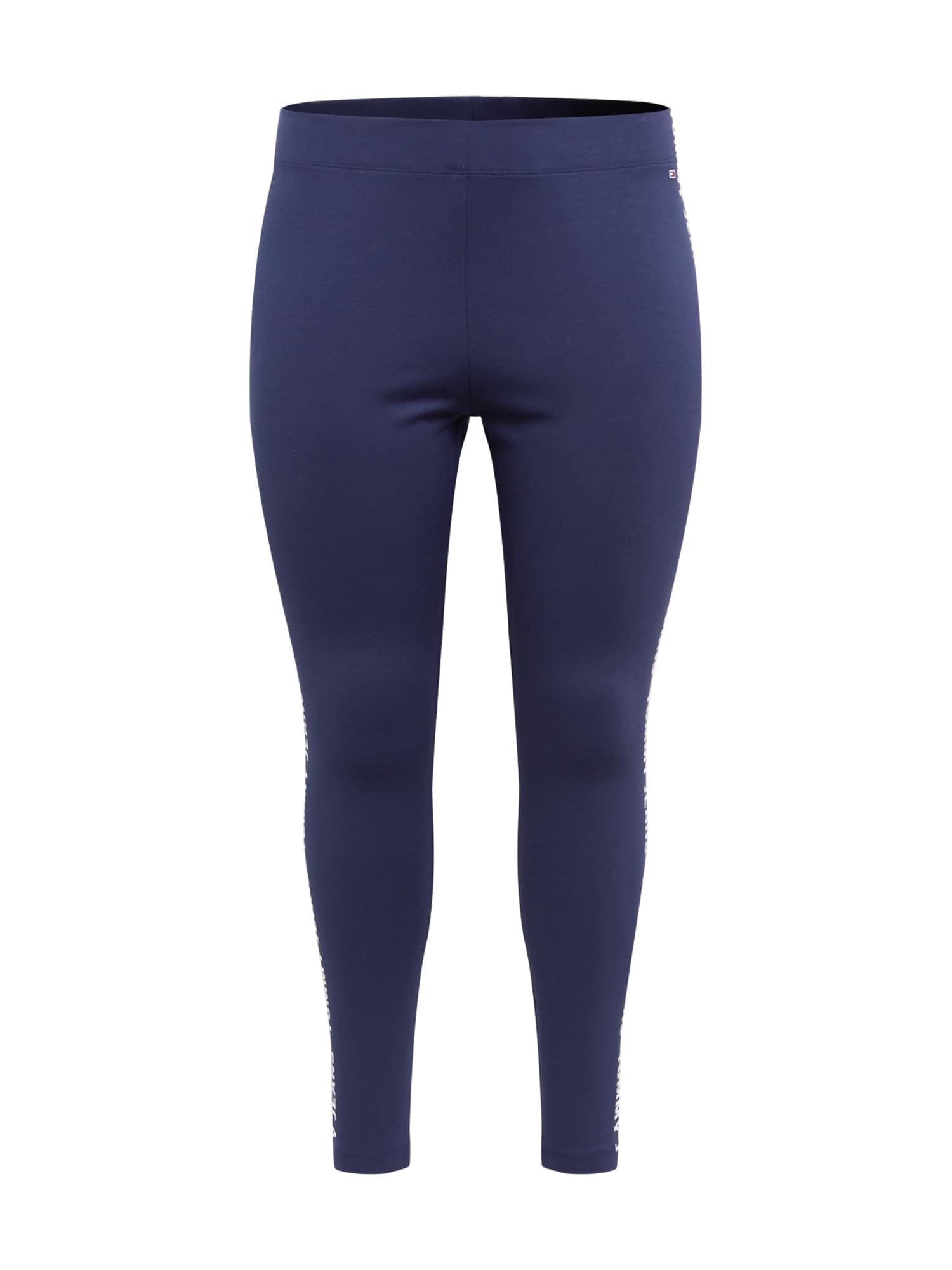 Tommy Jeans Curve Tamprės mėlyna / balta