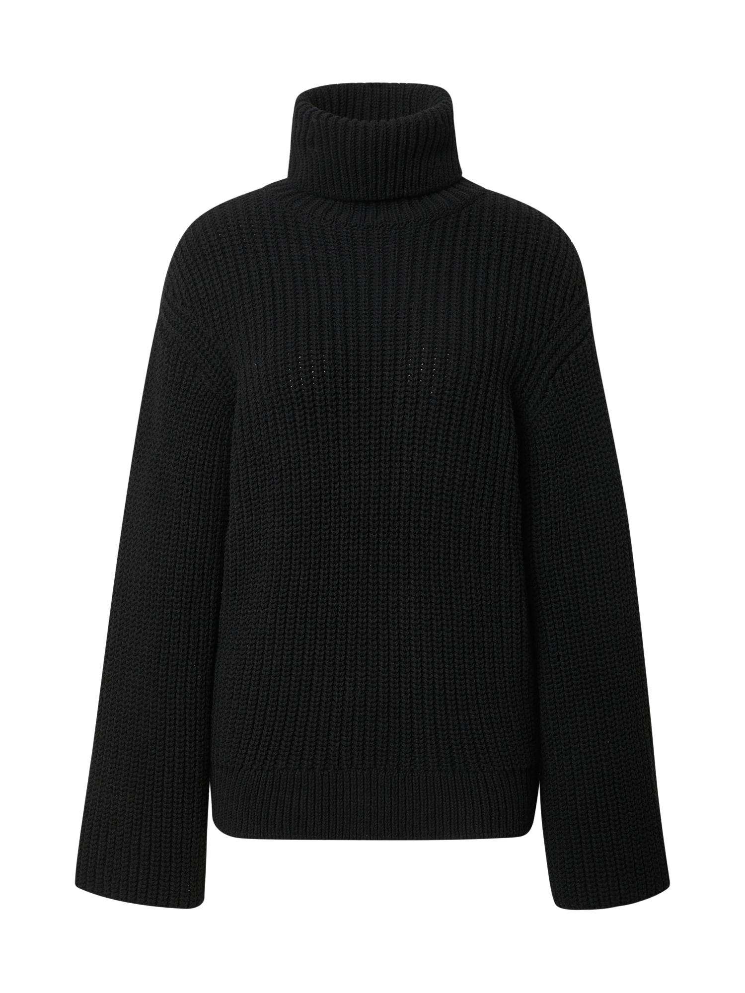 Liz Kaeber Laisvas megztinis juoda