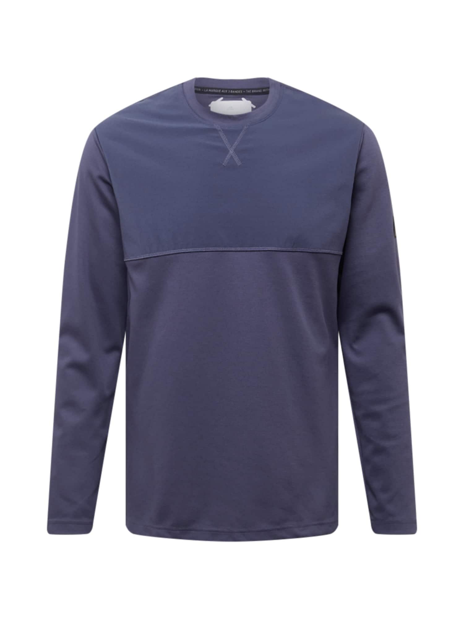 adidas Golf Funkční tričko  petrolejová