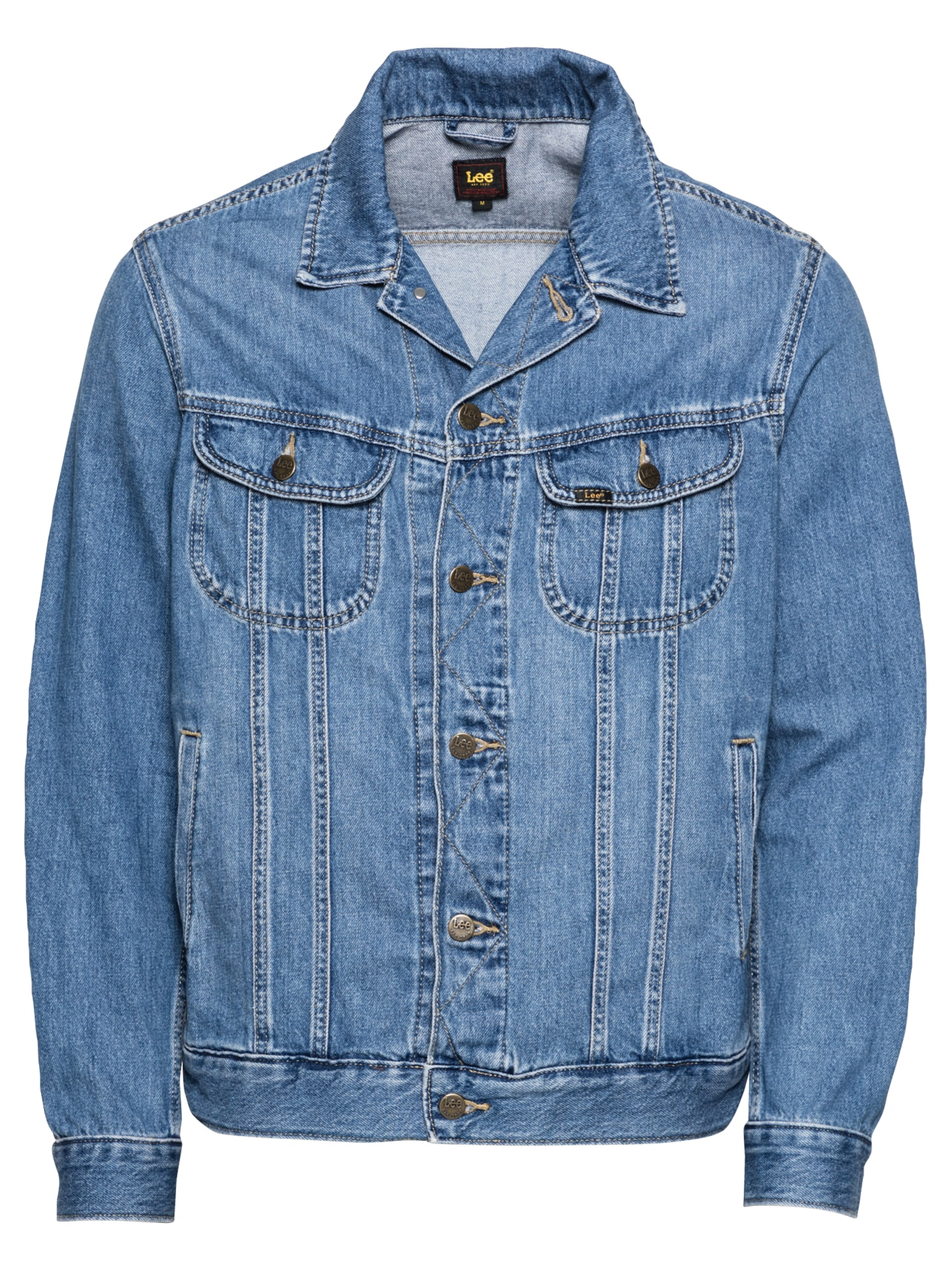 Lee Demisezoninė striukė 'RIDER' tamsiai (džinso) mėlyna