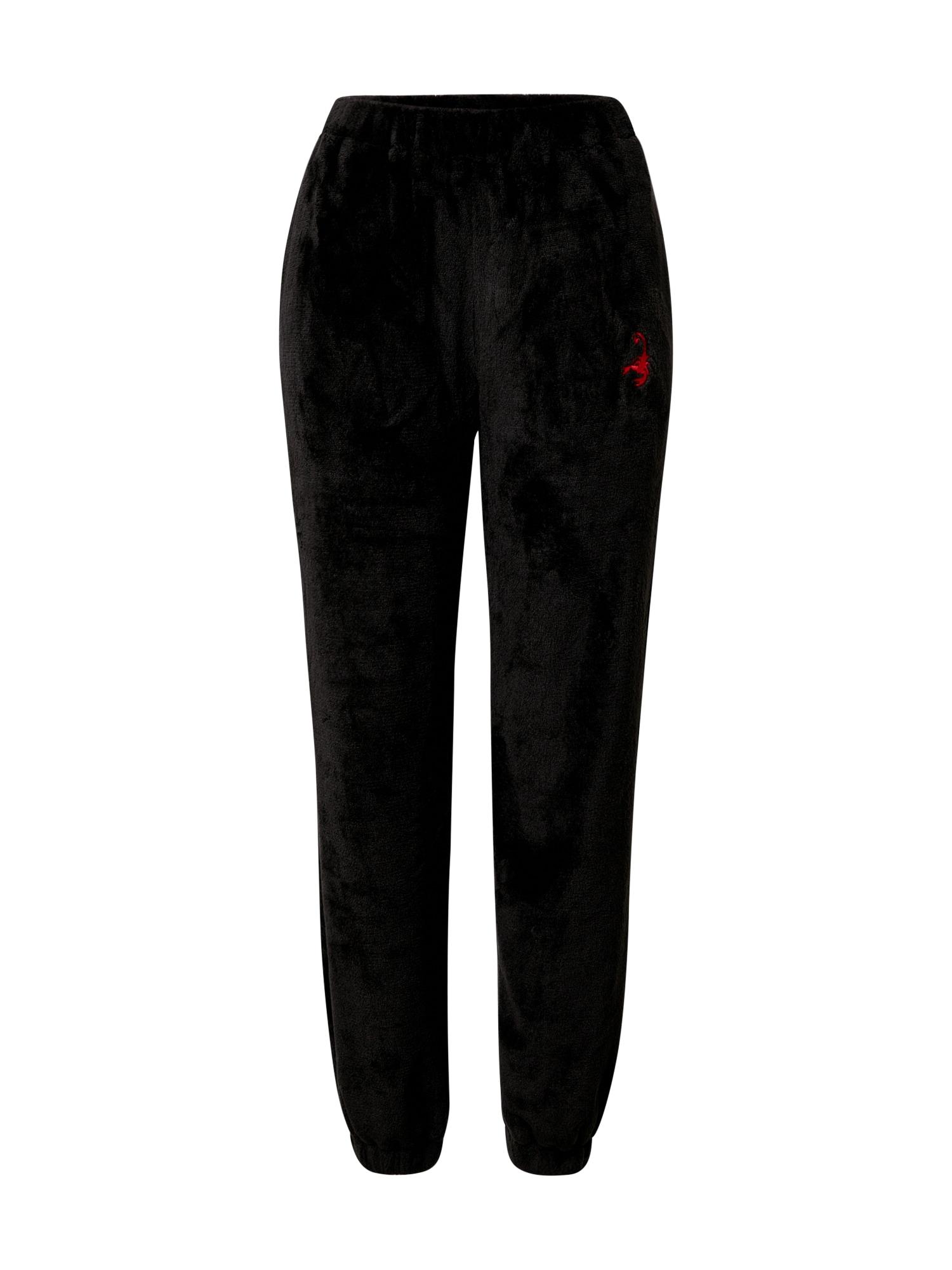 VIERVIER Kelnės 'Felicia' juoda