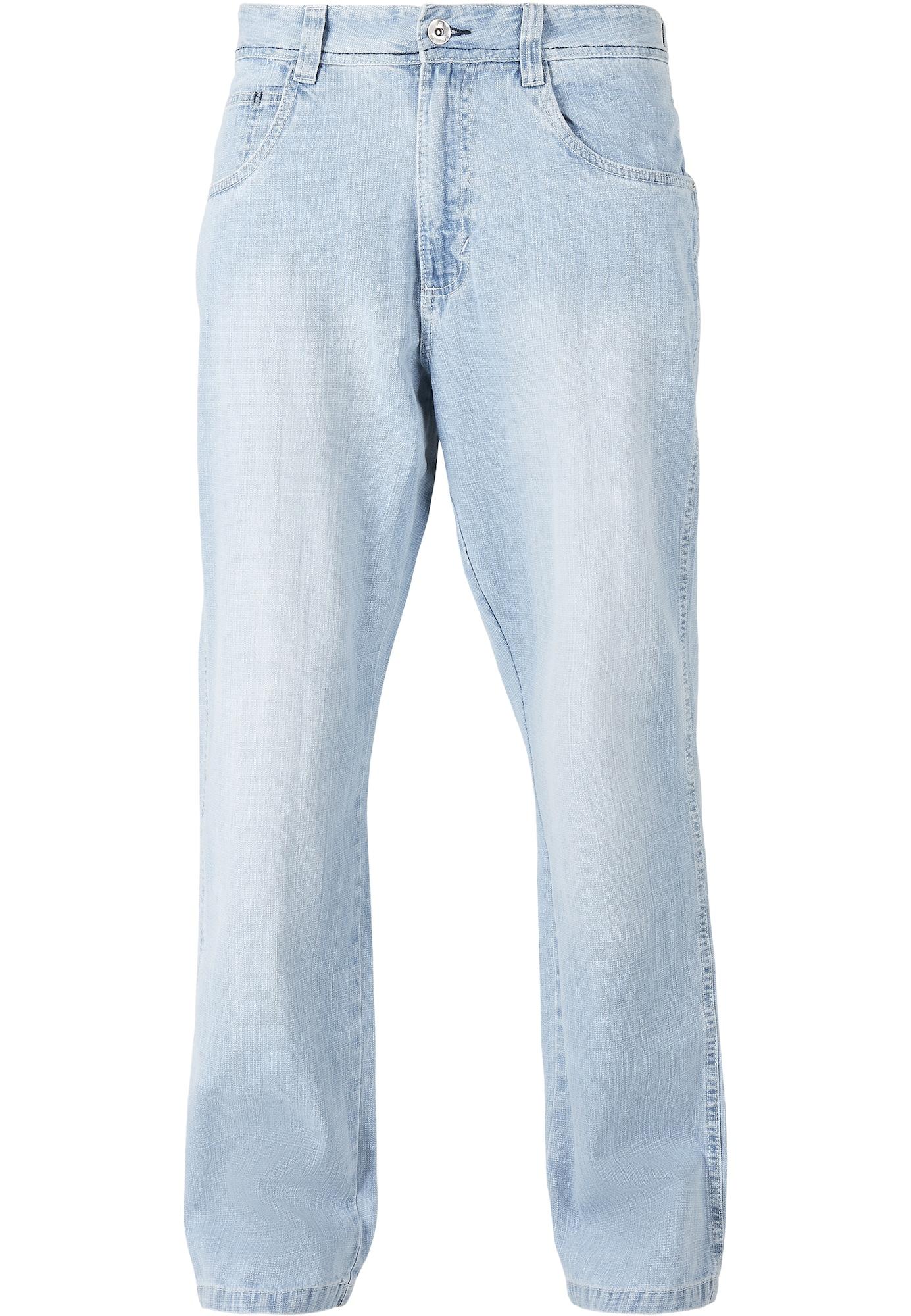 SOUTHPOLE Džinsai šviesiai mėlyna