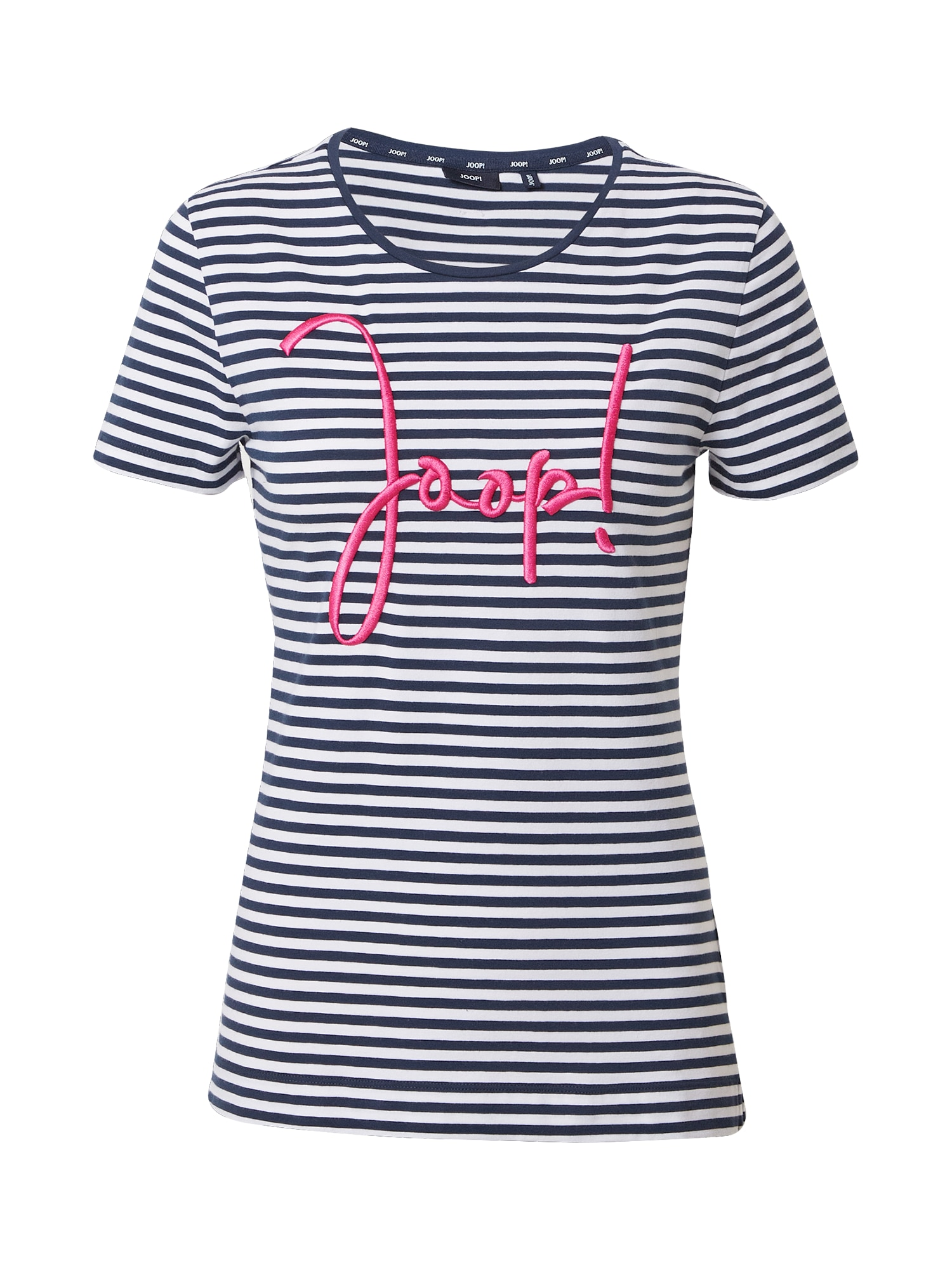 JOOP! Marškinėliai tamsiai mėlyna / balta / rožinė
